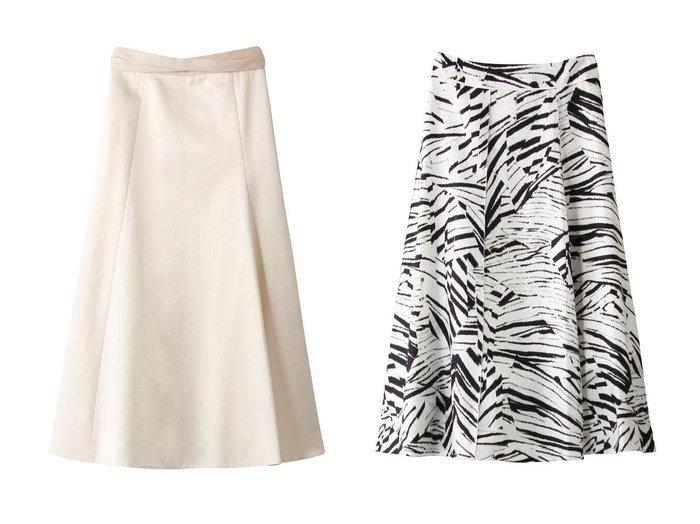 【BLAMINK/ブラミンク】のコットンアセテートサテンフレアスカート&シルクプリントフレアスカート 【スカート】おすすめ!人気、トレンド・レディースファッションの通販 おすすめ人気トレンドファッション通販アイテム 人気、トレンドファッション・服の通販 founy(ファニー) ファッション Fashion レディースファッション WOMEN スカート Skirt Aライン/フレアスカート Flared A-Line Skirts 2021年 2021 2021-2022秋冬・A/W AW・Autumn/Winter・FW・Fall-Winter・2021-2022 A/W・秋冬 AW・Autumn/Winter・FW・Fall-Winter シルク フレア プリント モノトーン サテン リボン |ID:crp329100000055086