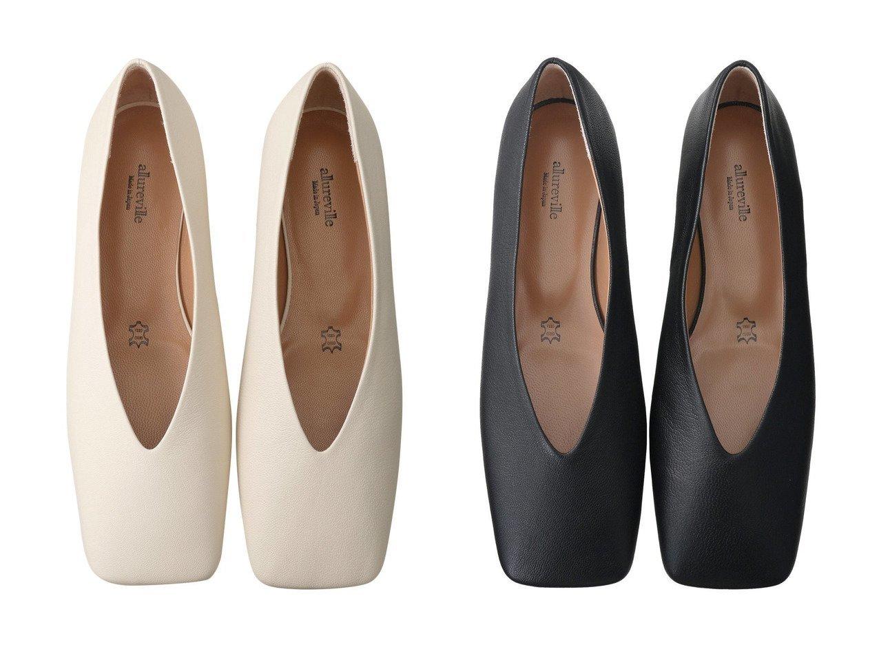 【allureville/アルアバイル】のスクエアフラットシューズ 【シューズ・靴】おすすめ!人気、トレンド・レディースファッションの通販 おすすめで人気の流行・トレンド、ファッションの通販商品 インテリア・家具・メンズファッション・キッズファッション・レディースファッション・服の通販 founy(ファニー) https://founy.com/ ファッション Fashion レディースファッション WOMEN 2021年 2021 2021-2022秋冬・A/W AW・Autumn/Winter・FW・Fall-Winter・2021-2022 A/W・秋冬 AW・Autumn/Winter・FW・Fall-Winter シューズ フラット |ID:crp329100000055097