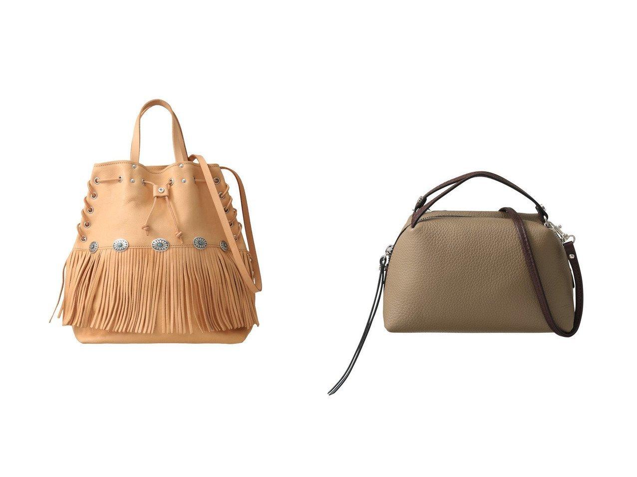 【heliopole/エリオポール】の【GIANNI CHIARINI】ALIFA-MINI ミニショルダーバッグ&【Whim Gazette/ウィムガゼット】の【RUST MOOD】レザーフリンジバッグ1 【バッグ・鞄】おすすめ!人気、トレンド・レディースファッションの通販 おすすめで人気の流行・トレンド、ファッションの通販商品 インテリア・家具・メンズファッション・キッズファッション・レディースファッション・服の通販 founy(ファニー) https://founy.com/ ファッション Fashion レディースファッション WOMEN バッグ Bag なめらか ショルダー ハンドバッグ フロント フォルム  ID:crp329100000055104