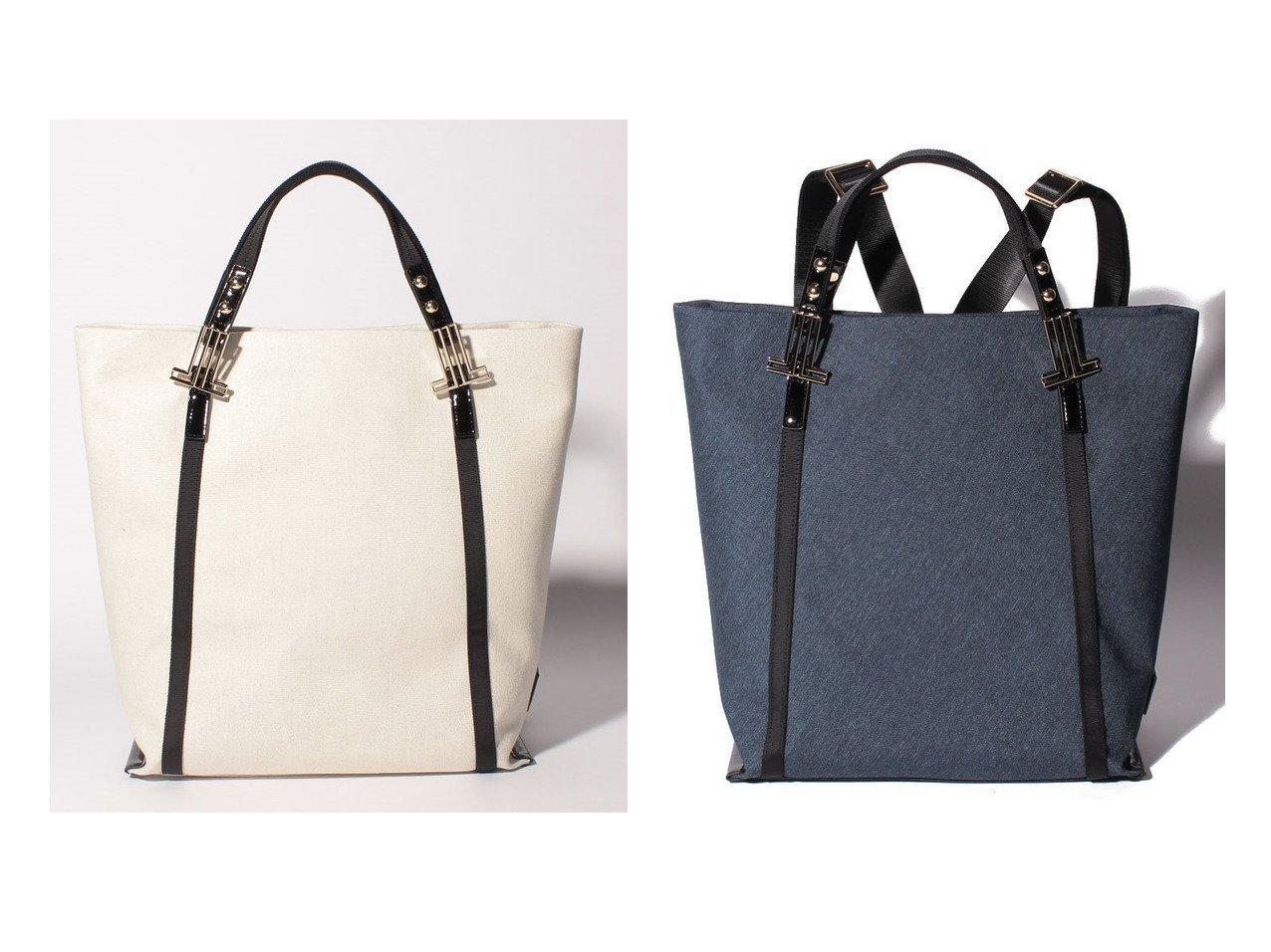 【LANVIN en Bleu/ランバン オン ブルー】のカレ 2wayリュックサック 【バッグ・鞄】おすすめ!人気、トレンド・レディースファッションの通販 おすすめで人気の流行・トレンド、ファッションの通販商品 インテリア・家具・メンズファッション・キッズファッション・レディースファッション・服の通販 founy(ファニー) https://founy.com/ ファッション Fashion レディースファッション WOMEN バッグ Bag ショルダー フェミニン ポケット ポーチ メタル モチーフ リボン リュック  ID:crp329100000055106