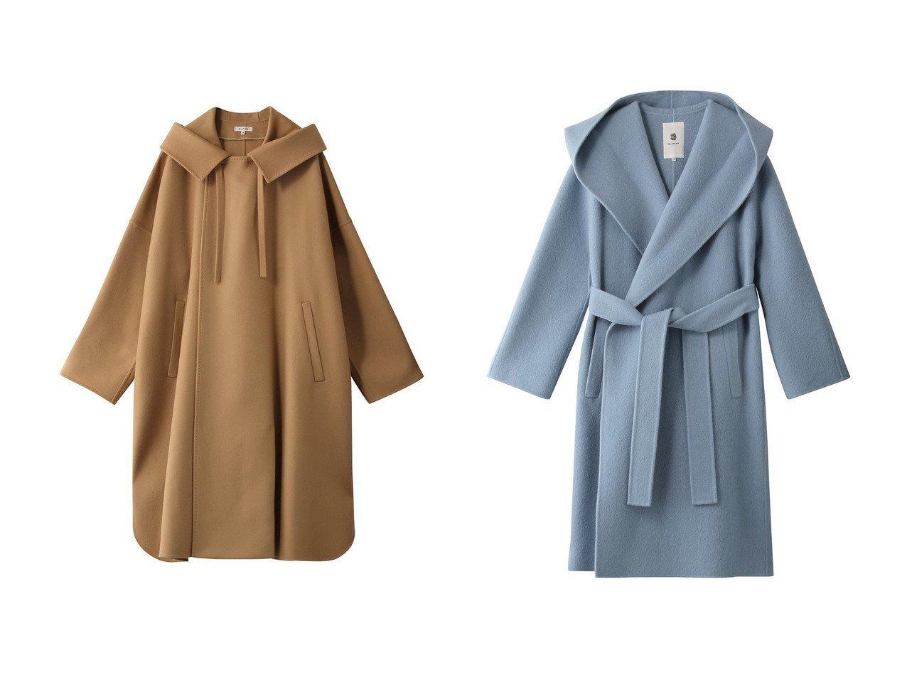【BLAMINK/ブラミンク】のウールフードポンチョ&ウールモヘヤフードラップコート 【アウター】おすすめ!人気、トレンド・レディースファッションの通販 おすすめで人気の流行・トレンド、ファッションの通販商品 インテリア・家具・メンズファッション・キッズファッション・レディースファッション・服の通販 founy(ファニー) https://founy.com/ ファッション Fashion レディースファッション WOMEN アウター Coat Outerwear ポンチョ Ponchos コート Coats 2021年 2021 2021-2022秋冬・A/W AW・Autumn/Winter・FW・Fall-Winter・2021-2022 A/W・秋冬 AW・Autumn/Winter・FW・Fall-Winter シンプル スリット 秋 Autumn/Fall モヘア |ID:crp329100000055109