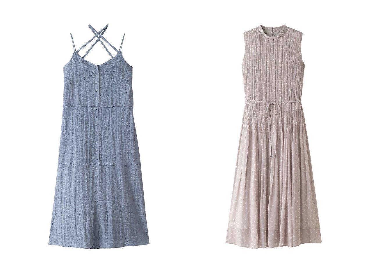【LE CIEL BLEU/ルシェル ブルー】のマキシキャミドレス&【ANAYI/アナイ】のシフォンドットプリーツワンピース 【ワンピース・ドレス】おすすめ!人気、トレンド・レディースファッションの通販 おすすめで人気の流行・トレンド、ファッションの通販商品 インテリア・家具・メンズファッション・キッズファッション・レディースファッション・服の通販 founy(ファニー) https://founy.com/ ファッション Fashion レディースファッション WOMEN トップス・カットソー Tops/Tshirt キャミソール / ノースリーブ No Sleeves ワンピース Dress ドレス Party Dresses 2021年 2021 2021-2022秋冬・A/W AW・Autumn/Winter・FW・Fall-Winter・2021-2022 A/W・秋冬 AW・Autumn/Winter・FW・Fall-Winter キャミワンピース ワッシャー 夏 Summer シアー シフォン ドット パーティ フェミニン プリーツ リボン |ID:crp329100000055117