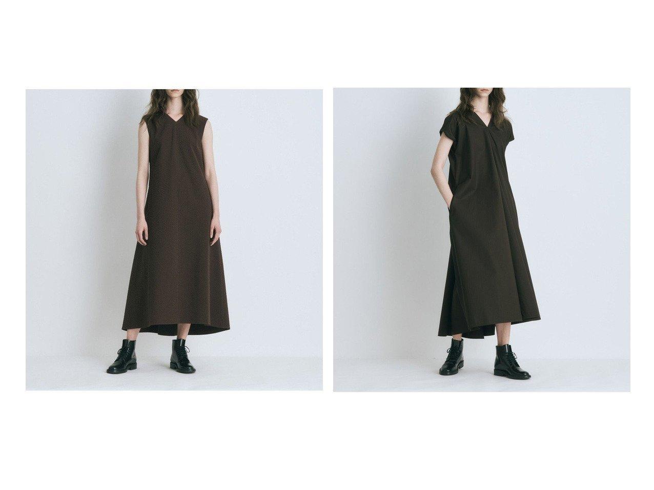 【ATON/エイトン】のCOTTON SILK SHEAR SOCCER Vネックドレス&COTTON TWILL ドレープドレス 【ワンピース・ドレス】おすすめ!人気、トレンド・レディースファッションの通販 おすすめで人気の流行・トレンド、ファッションの通販商品 インテリア・家具・メンズファッション・キッズファッション・レディースファッション・服の通販 founy(ファニー) https://founy.com/ ファッション Fashion レディースファッション WOMEN ワンピース Dress ドレス Party Dresses 送料無料 Free Shipping ドレス ドレープ ロング |ID:crp329100000055125