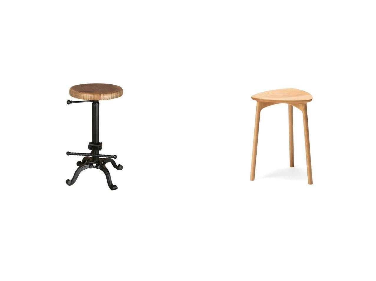 【DULTON/ダルトン】のアイアン スツール Model S245-86ABK&【Hirata Chair/平田椅子製作所】のビオ スツール ハイ 【FURNITURE】おすすめ!人気、インテリア雑貨・家具の通販 おすすめで人気の流行・トレンド、ファッションの通販商品 インテリア・家具・メンズファッション・キッズファッション・レディースファッション・服の通販 founy(ファニー) https://founy.com/ 送料無料 Free Shipping テーブル フォルム フラット アンティーク ウッド ホーム・キャンプ・アウトドア Home,Garden,Outdoor,Camping Gear 家具・インテリア Furniture チェア・椅子 Chair スツール ホーム・キャンプ・アウトドア Home,Garden,Outdoor,Camping Gear 家具・インテリア Furniture チェア・椅子 Chair カウンターチェア・ハイスツール |ID:crp329100000055179