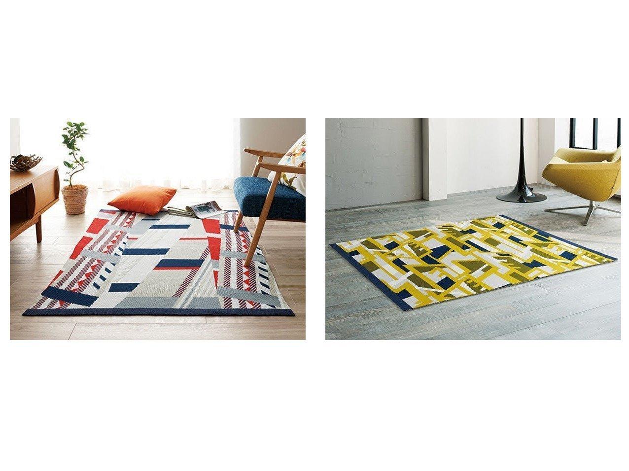 【FLYMEe Parlor/フライミーパーラー】のラグ n7345&ラグ n7343 【FURNITURE】おすすめ!人気、インテリア雑貨・家具の通販 おすすめで人気の流行・トレンド、ファッションの通販商品 インテリア・家具・メンズファッション・キッズファッション・レディースファッション・服の通販 founy(ファニー) https://founy.com/ 送料無料 Free Shipping テーブル |ID:crp329100000055199