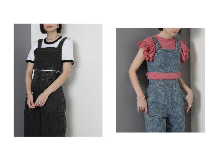 【ROSE BUD/ローズバッド】のデニムビスチェ 【トップス・カットソー】おすすめ!人気、トレンド・レディースファッションの通販 おすすめ人気トレンドファッション通販アイテム 人気、トレンドファッション・服の通販 founy(ファニー) ファッション Fashion レディースファッション WOMEN トップス・カットソー Tops/Tshirt ビスチェ Bustier 2021年 2021 2021-2022秋冬・A/W AW・Autumn/Winter・FW・Fall-Winter・2021-2022 A/W・秋冬 AW・Autumn/Winter・FW・Fall-Winter おすすめ Recommend インナー スリーブ セットアップ トレンド ビスチェ |ID:crp329100000055261