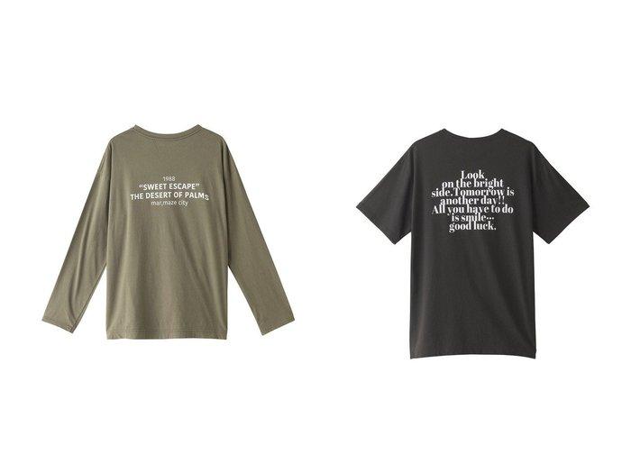 【RED CARD/レッドカード】の【FLAVOR TEE】SWEET ESCAPE 長袖Tシャツ&【FLAVOR TEE】GOOD LUCK Tシャツ 【トップス・カットソー】おすすめ!人気、トレンド・レディースファッションの通販 おすすめ人気トレンドファッション通販アイテム 人気、トレンドファッション・服の通販 founy(ファニー) ファッション Fashion レディースファッション WOMEN トップス・カットソー Tops/Tshirt シャツ/ブラウス Shirts/Blouses ロング / Tシャツ T-Shirts 2021年 2021 2021-2022秋冬・A/W AW・Autumn/Winter・FW・Fall-Winter・2021-2022 A/W・秋冬 AW・Autumn/Winter・FW・Fall-Winter 抗菌 ロング 長袖 |ID:crp329100000055265