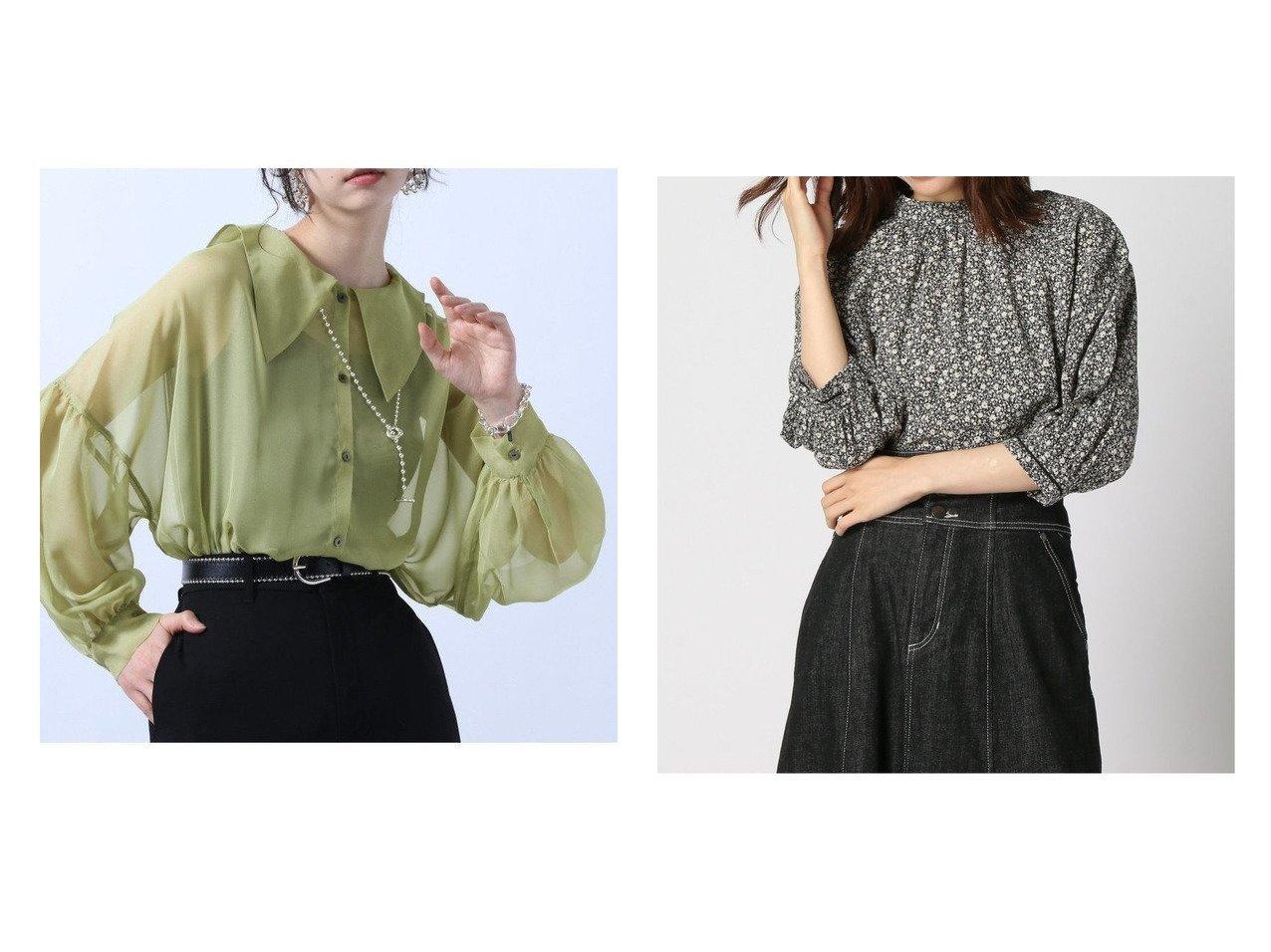 【HARE/ハレ】のビッグカラーシアーシャツ&【GLOBAL WORK/グローバルワーク】のフリルスタンドブラウス6S 【プチプライス・低価格】おすすめ!人気、トレンド・レディースファッションの通販 おすすめで人気の流行・トレンド、ファッションの通販商品 インテリア・家具・メンズファッション・キッズファッション・レディースファッション・服の通販 founy(ファニー) https://founy.com/ ファッション Fashion レディースファッション WOMEN トップス・カットソー Tops/Tshirt シャツ/ブラウス Shirts/Blouses S/S・春夏 SS・Spring/Summer おすすめ Recommend シフォン トレンド 今季 夏 Summer 春 Spring 羽織 長袖 サロペ デニム レース  ID:crp329100000055334