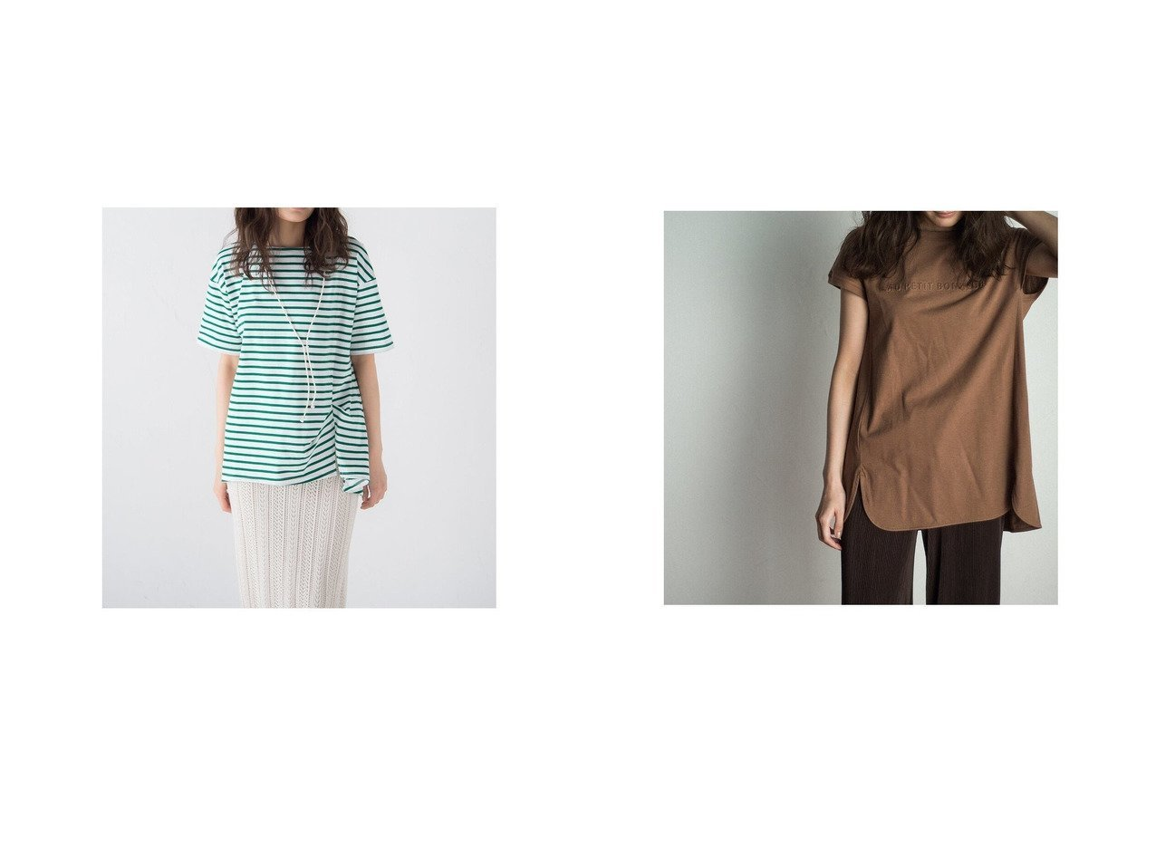 【MAYSON GREY/メイソングレイ】のシルケットボーダーTシャツ&エンボス加工Tシャツ おすすめ!人気、トレンド・レディースファッションの通販 おすすめで人気の流行・トレンド、ファッションの通販商品 インテリア・家具・メンズファッション・キッズファッション・レディースファッション・服の通販 founy(ファニー) https://founy.com/ ファッション Fashion レディースファッション WOMEN トップス・カットソー Tops/Tshirt シャツ/ブラウス Shirts/Blouses ロング / Tシャツ T-Shirts 2021年 2021 2021春夏・S/S SS/Spring/Summer/2021 S/S・春夏 SS・Spring/Summer 夏 Summer 春 Spring  ID:crp329100000055378