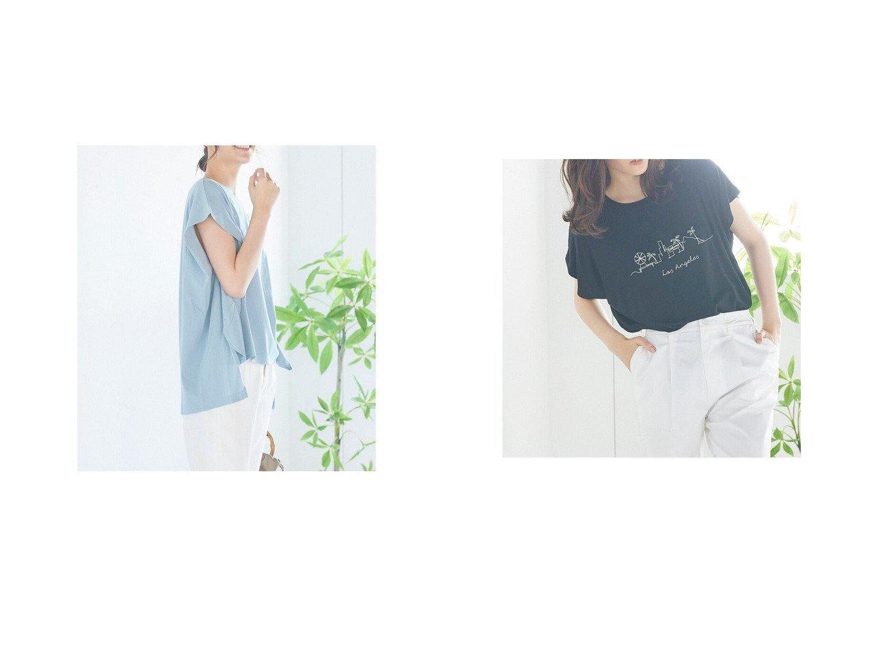 【LIPSTAR/リップスター】のシルケットライクチュニックTシャツ&フレンチスリーブTシャツ おすすめ!人気、トレンド・レディースファッションの通販 おすすめで人気の流行・トレンド、ファッションの通販商品 インテリア・家具・メンズファッション・キッズファッション・レディースファッション・服の通販 founy(ファニー) https://founy.com/ ファッション Fashion レディースファッション WOMEN トップス・カットソー Tops/Tshirt シャツ/ブラウス Shirts/Blouses ロング / Tシャツ T-Shirts A/W・秋冬 AW・Autumn/Winter・FW・Fall-Winter おすすめ Recommend カットソー シンプル チュニック フレンチ フロント ボトム  ID:crp329100000055392