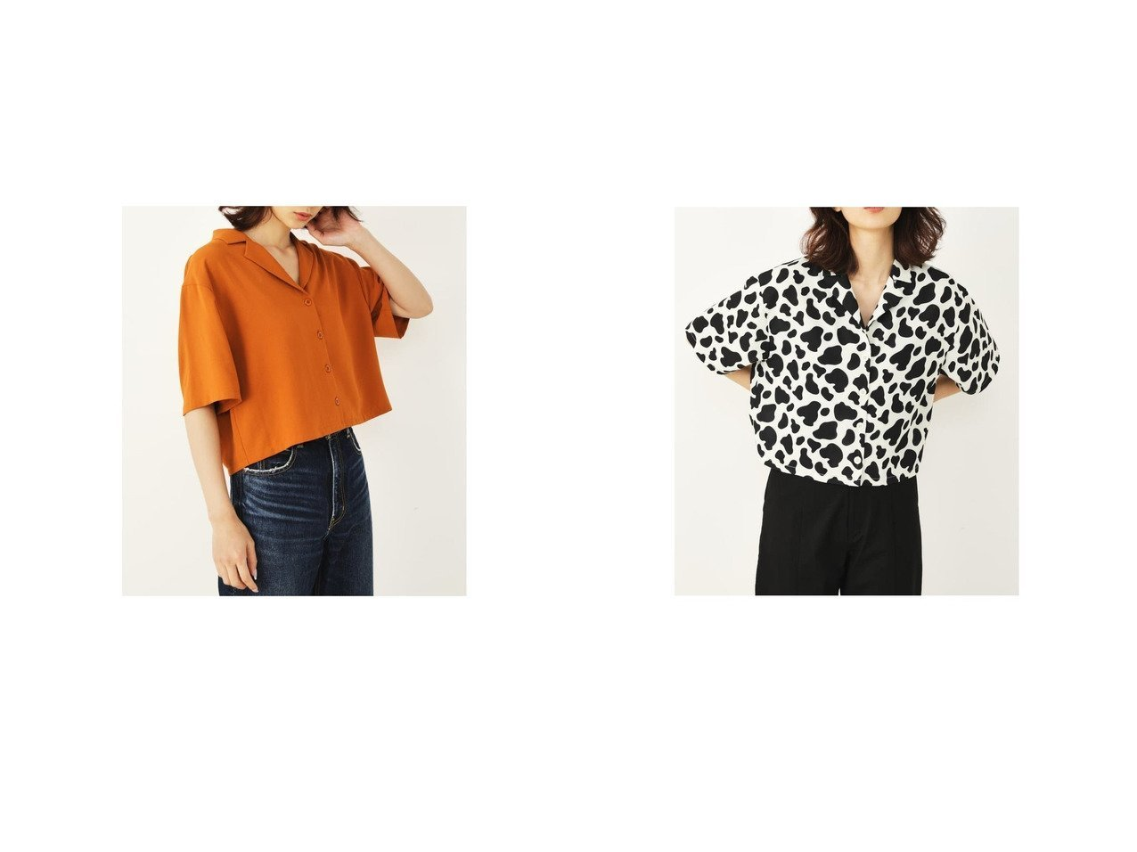 【SHELTTER/シェルター】のCowパターンブラウス おすすめ!人気、トレンド・レディースファッションの通販 おすすめで人気の流行・トレンド、ファッションの通販商品 インテリア・家具・メンズファッション・キッズファッション・レディースファッション・服の通販 founy(ファニー) https://founy.com/ ファッション Fashion レディースファッション WOMEN トップス・カットソー Tops/Tshirt シャツ/ブラウス Shirts/Blouses 2021年 2021 2021春夏・S/S SS/Spring/Summer/2021 S/S・春夏 SS・Spring/Summer コンパクト パターン 半袖 夏 Summer 春 Spring  ID:crp329100000055396
