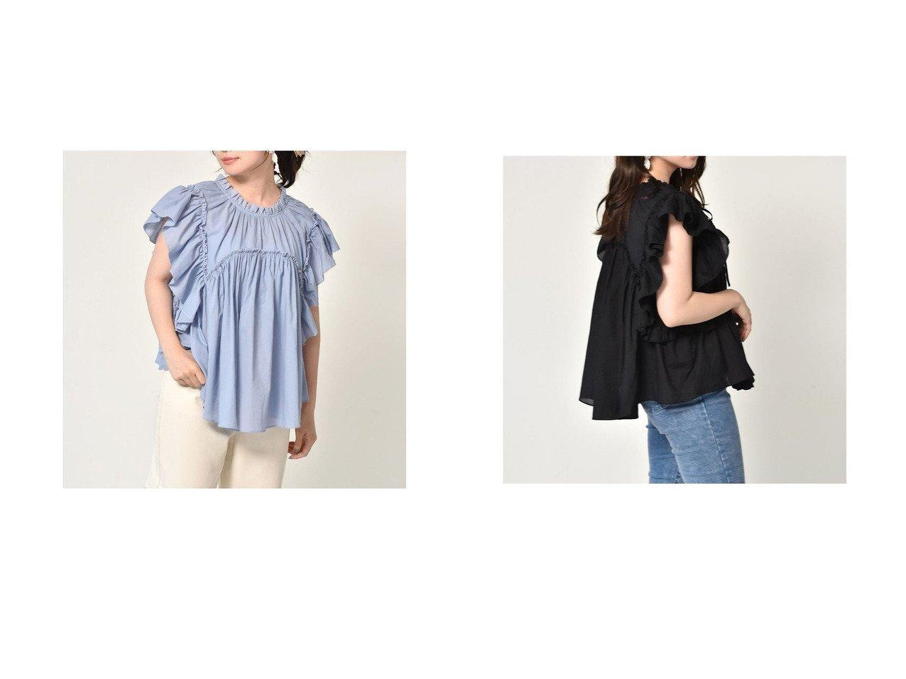 【Emsexcite/エムズエキサイト】の2wayラッフルノースリBL おすすめ!人気、トレンド・レディースファッションの通販 おすすめで人気の流行・トレンド、ファッションの通販商品 インテリア・家具・メンズファッション・キッズファッション・レディースファッション・服の通販 founy(ファニー) https://founy.com/ ファッション Fashion レディースファッション WOMEN 2021年 2021 2021春夏・S/S SS/Spring/Summer/2021 S/S・春夏 SS・Spring/Summer キャミソール フリル リボン 夏 Summer 春 Spring  ID:crp329100000055401
