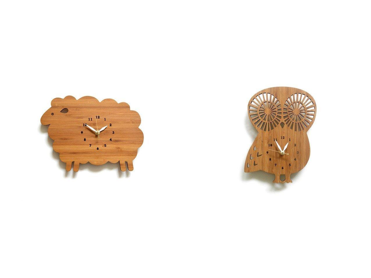 【FLYMEe ZOO/フライミーズー】のウォールクロック #105458&ウォールクロック #105468 【FURNITURE】おすすめ!人気、インテリア雑貨・家具の通販 おすすめで人気の流行・トレンド、ファッションの通販商品 インテリア・家具・メンズファッション・キッズファッション・レディースファッション・服の通販 founy(ファニー) https://founy.com/ 送料無料 Free Shipping シンプル テーブル 時計 軽量  ID:crp329100000055475