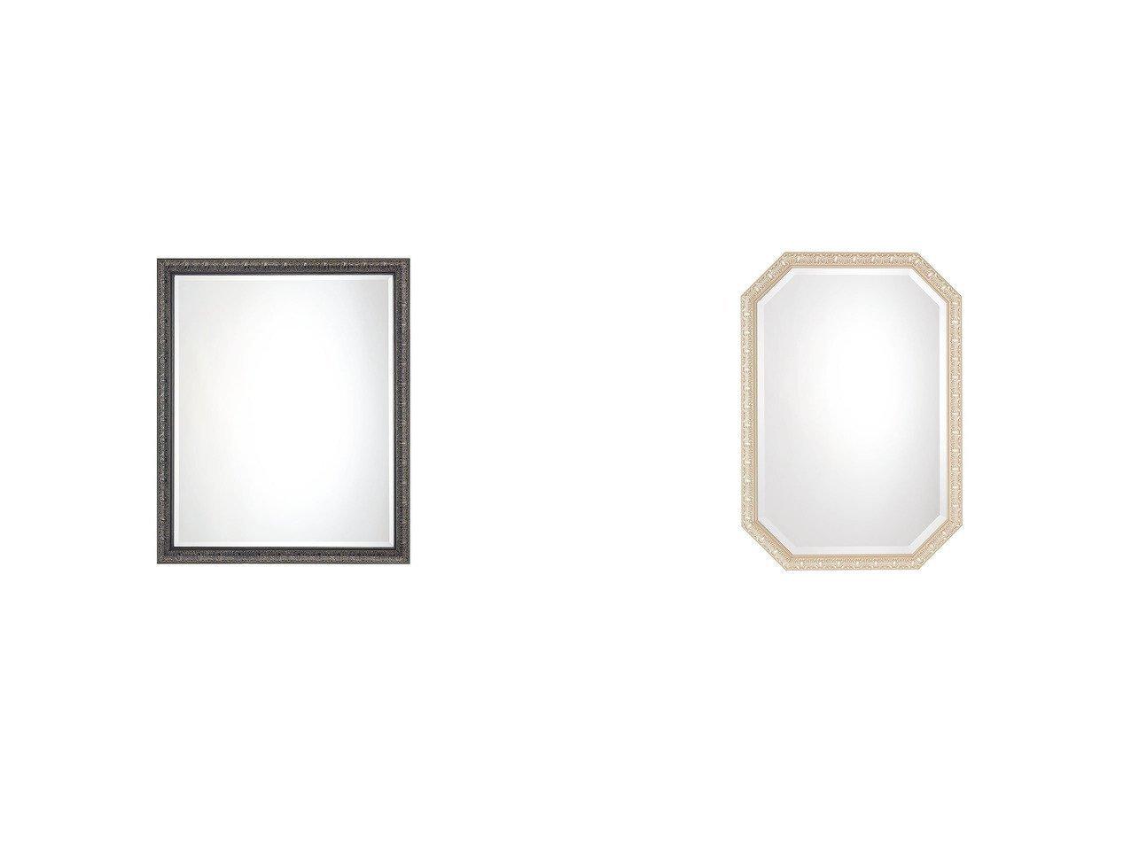 【FLYMEe Blanc/フライミー ブラン】のウォールミラー m77339&ウォールミラー m77338 【FURNITURE】おすすめ!人気、インテリア雑貨・家具の通販 おすすめで人気の流行・トレンド、ファッションの通販商品 インテリア・家具・メンズファッション・キッズファッション・レディースファッション・服の通販 founy(ファニー) https://founy.com/ アンティーク フレーム ホーム・キャンプ・アウトドア Home,Garden,Outdoor,Camping Gear 家具・インテリア Furniture ミラー・ドレッサー Mirror ミラー・鏡 ホーム・キャンプ・アウトドア Home,Garden,Outdoor,Camping Gear 家具・インテリア Furniture ミラー・ドレッサー Mirror ドレッサー  ID:crp329100000055480
