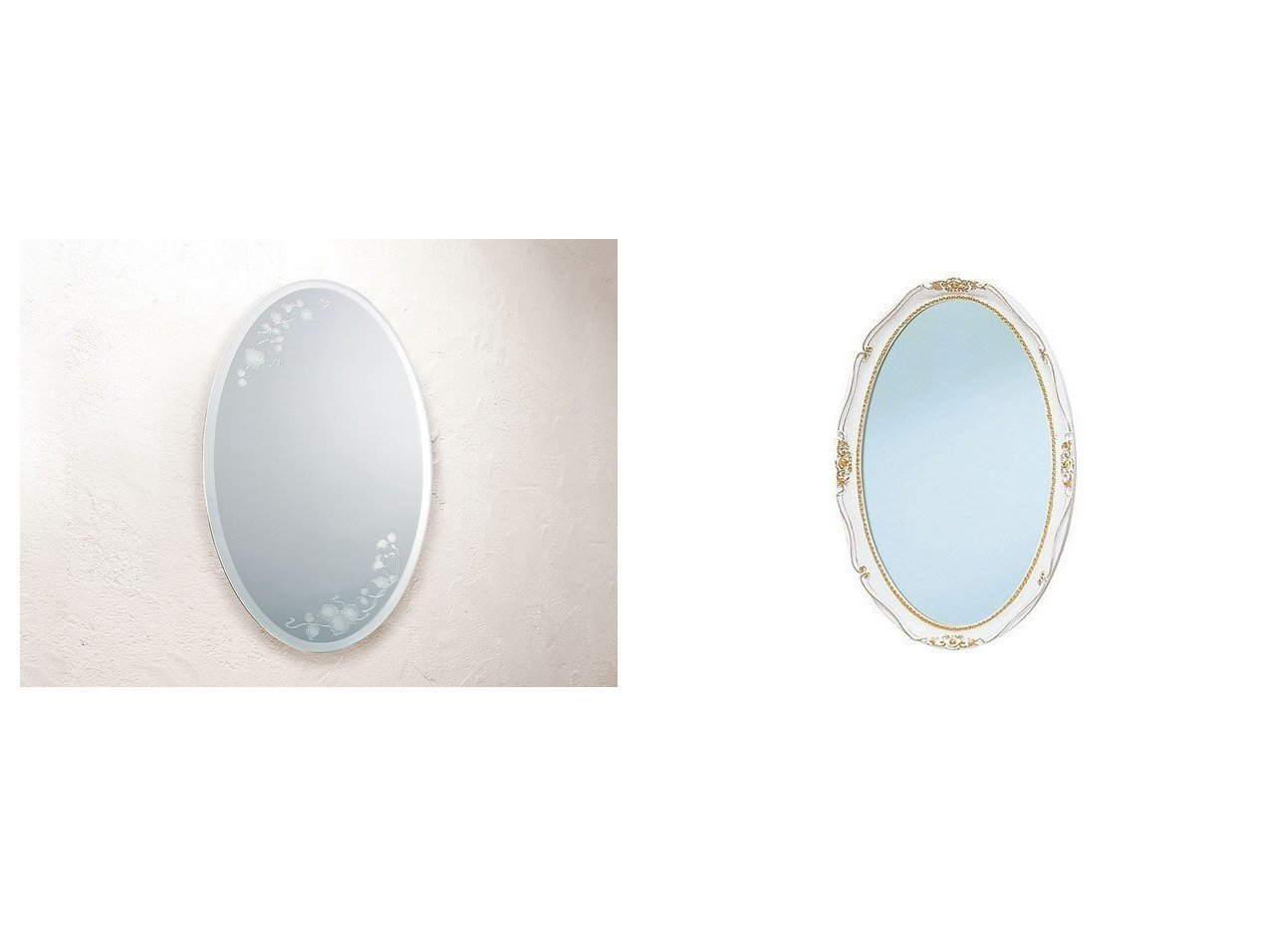 【FLYMEe Blanc/フライミー ブラン】のウォールミラー m77230&ウォールミラー m7712 【FURNITURE】おすすめ!人気、インテリア雑貨・家具の通販 おすすめで人気の流行・トレンド、ファッションの通販商品 インテリア・家具・メンズファッション・キッズファッション・レディースファッション・服の通販 founy(ファニー) https://founy.com/ 送料無料 Free Shipping エレガント オーバル クラシカル ホーム・キャンプ・アウトドア Home,Garden,Outdoor,Camping Gear 家具・インテリア Furniture ミラー・ドレッサー Mirror ミラー・鏡 ホーム・キャンプ・アウトドア Home,Garden,Outdoor,Camping Gear 家具・インテリア Furniture ミラー・ドレッサー Mirror ドレッサー  ID:crp329100000055490