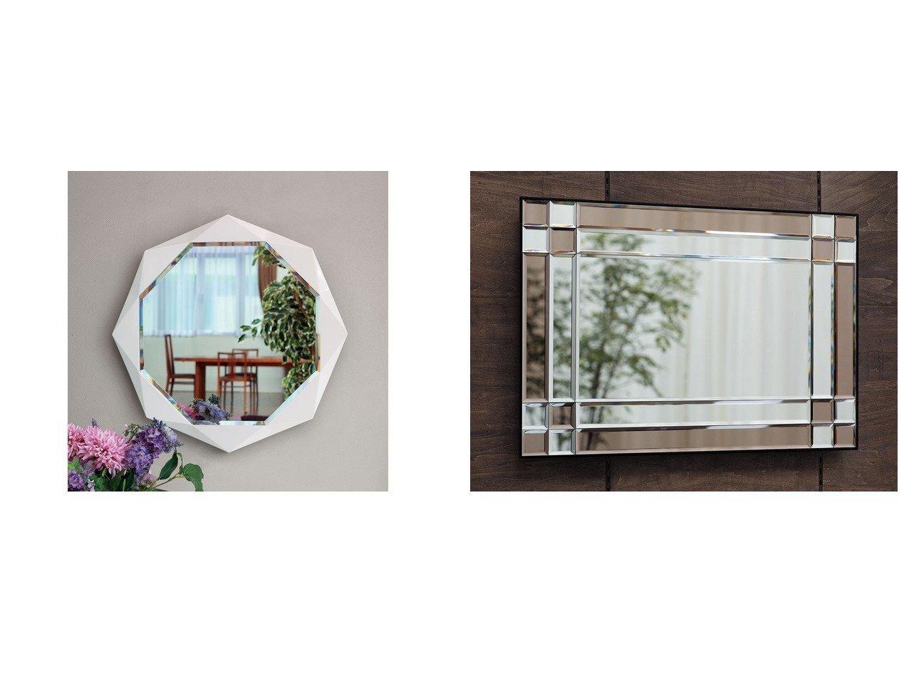 【FLYMEe Blanc/フライミー ブラン】のウォールミラー m7782&ウォールミラー m77137 【FURNITURE】おすすめ!人気、インテリア雑貨・家具の通販 おすすめで人気の流行・トレンド、ファッションの通販商品 インテリア・家具・メンズファッション・キッズファッション・レディースファッション・服の通販 founy(ファニー) https://founy.com/ 送料無料 Free Shipping エレガント ダイヤモンド フレーム モノトーン ホーム・キャンプ・アウトドア Home,Garden,Outdoor,Camping Gear 家具・インテリア Furniture ミラー・ドレッサー Mirror ミラー・鏡 ホーム・キャンプ・アウトドア Home,Garden,Outdoor,Camping Gear 家具・インテリア Furniture ミラー・ドレッサー Mirror ドレッサー  ID:crp329100000055491