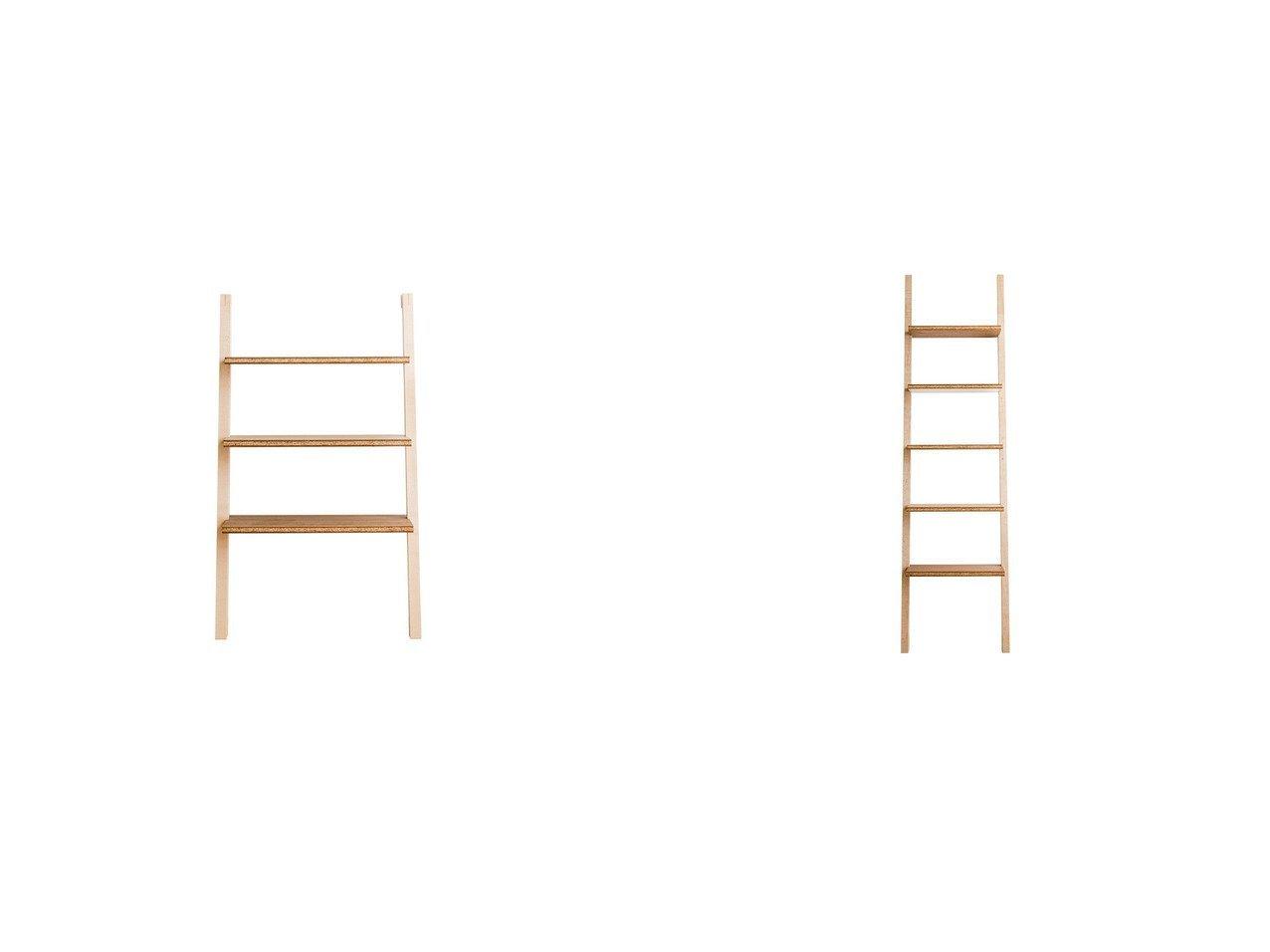 【FLANGE plywood/フランジ プライウッド】のハシゴ シェルフ&ハシゴ シェルフ ロー 【FURNITURE】おすすめ!人気、インテリア雑貨・家具の通販 おすすめで人気の流行・トレンド、ファッションの通販商品 インテリア・家具・メンズファッション・キッズファッション・レディースファッション・服の通販 founy(ファニー) https://founy.com/ 送料無料 Free Shipping ウッド シンプル ローズ ホーム・キャンプ・アウトドア Home,Garden,Outdoor,Camping Gear 家具・インテリア Furniture 収納家具・キャビネット Storage Furniture ラック・シェルフ  ID:crp329100000055524