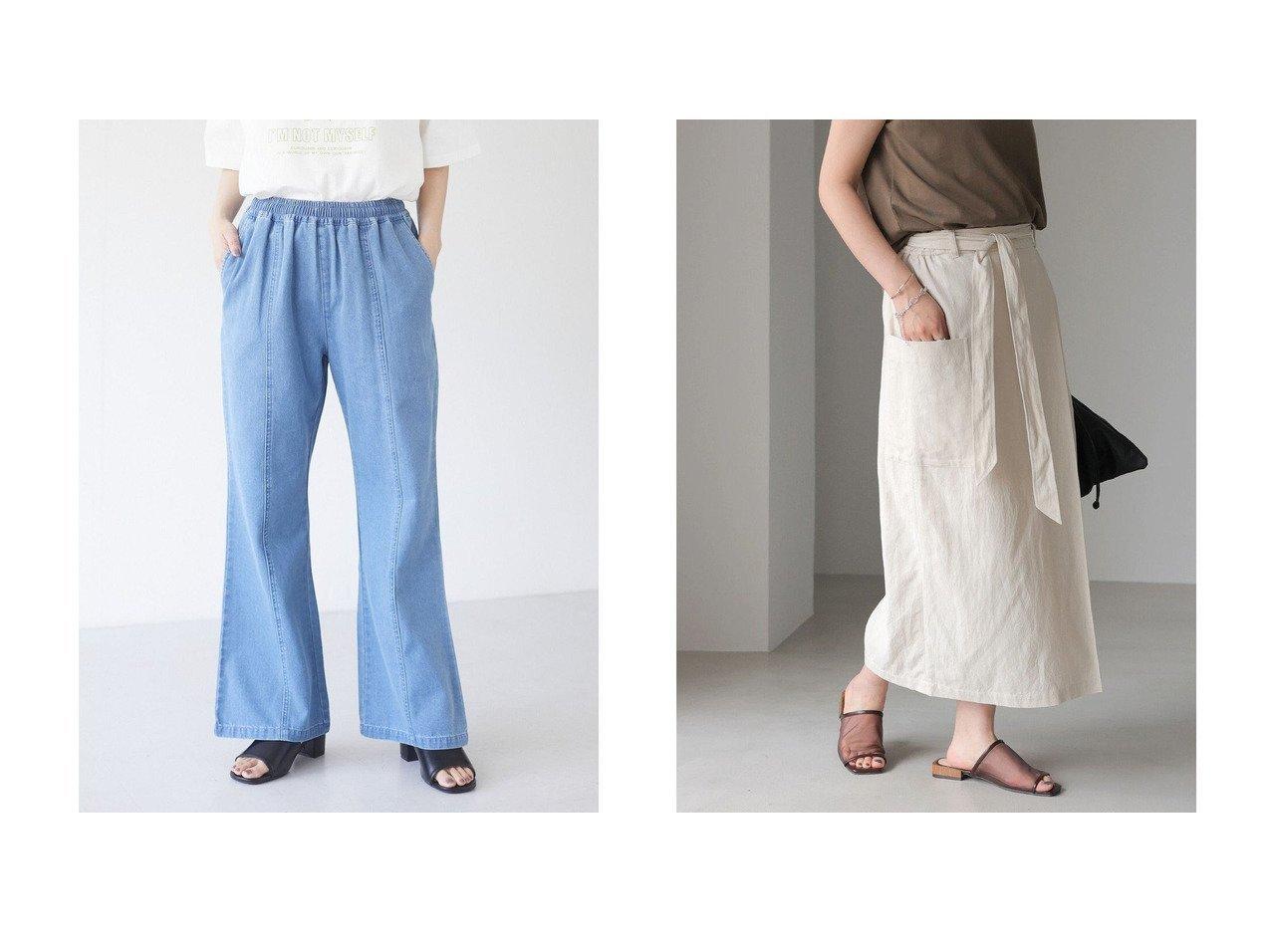 【Green Parks/グリーンパークス】のストレートデニムパンツ&【AMERICAN HOLIC/アメリカンホリック】のラップ風タイトスカート 【プチプライス・低価格】おすすめ!人気、トレンド・レディースファッションの通販 おすすめで人気の流行・トレンド、ファッションの通販商品 インテリア・家具・メンズファッション・キッズファッション・レディースファッション・服の通販 founy(ファニー) https://founy.com/ ファッション Fashion レディースファッション WOMEN スカート Skirt パンツ Pants デニムパンツ Denim Pants 送料無料 Free Shipping おすすめ Recommend スキッパー スタイリッシュ トレンド ラップ ガーリー ストレート デニム  ID:crp329100000055538