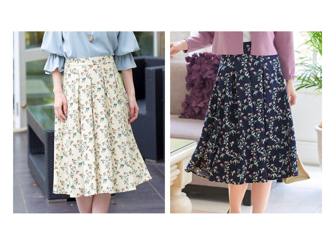 【Tiaclasse/ティアクラッセ】の【洗える】大人華やかな花柄フレアスカート 【プチプライス・低価格】おすすめ!人気、トレンド・レディースファッションの通販 おすすめで人気の流行・トレンド、ファッションの通販商品 インテリア・家具・メンズファッション・キッズファッション・レディースファッション・服の通販 founy(ファニー) https://founy.com/ ファッション Fashion レディースファッション WOMEN スカート Skirt Aライン/フレアスカート Flared A-Line Skirts 送料無料 Free Shipping ウォッシャブル ジョーゼット フラワー フレア プリント 夏 Summer 春 Spring 洗える 秋 Autumn/Fall  ID:crp329100000055557