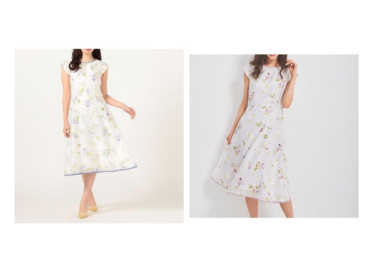 【LAISSE PASSE/レッセ パッセ】のオパールフラワーワンピース おすすめ!人気、トレンド・レディースファッションの通販 おすすめで人気の流行・トレンド、ファッションの通販商品 インテリア・家具・メンズファッション・キッズファッション・レディースファッション・服の通販 founy(ファニー) https://founy.com/ ファッション Fashion レディースファッション WOMEN ワンピース Dress スリーブ フレンチ リボン 再入荷 Restock/Back in Stock/Re Arrival  ID:crp329100000055563