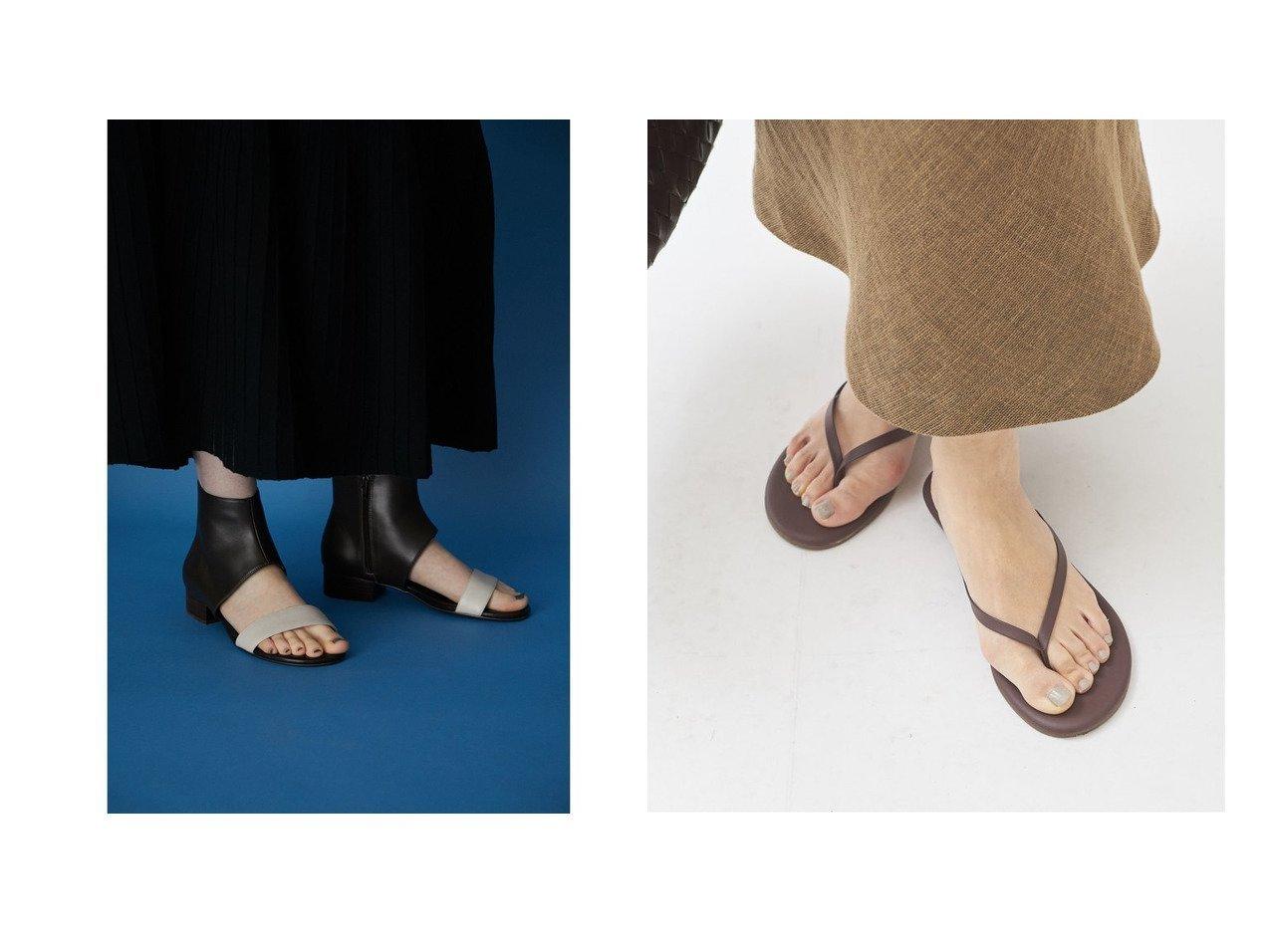 【Plage/プラージュ】の【ティキーズ】FOUNDATION MATTE D GLOW サンダル&【RIM.ARK/リムアーク】のFlat ankle sandal 【シューズ・靴】おすすめ!人気、トレンド・レディースファッションの通販 おすすめで人気の流行・トレンド、ファッションの通販商品 インテリア・家具・メンズファッション・キッズファッション・レディースファッション・服の通販 founy(ファニー) https://founy.com/ ファッション Fashion レディースファッション WOMEN 2021年 2021 2021春夏・S/S SS/Spring/Summer/2021 S/S・春夏 SS・Spring/Summer サンダル シューズ NEW・新作・新着・新入荷 New Arrivals コンビ スタイリッシュ バランス ブーティ  ID:crp329100000055582