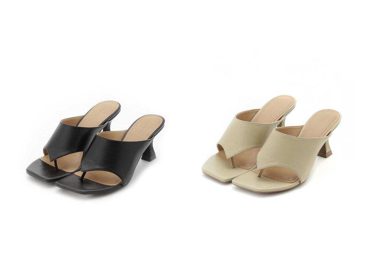 【SNIDEL/スナイデル】のトングヒールサンダル 【シューズ・靴】おすすめ!人気、トレンド・レディースファッションの通販 おすすめで人気の流行・トレンド、ファッションの通販商品 インテリア・家具・メンズファッション・キッズファッション・レディースファッション・服の通販 founy(ファニー) https://founy.com/ ファッション Fashion レディースファッション WOMEN サンダル シューズ フレンチ ミックス ミュール  ID:crp329100000055585