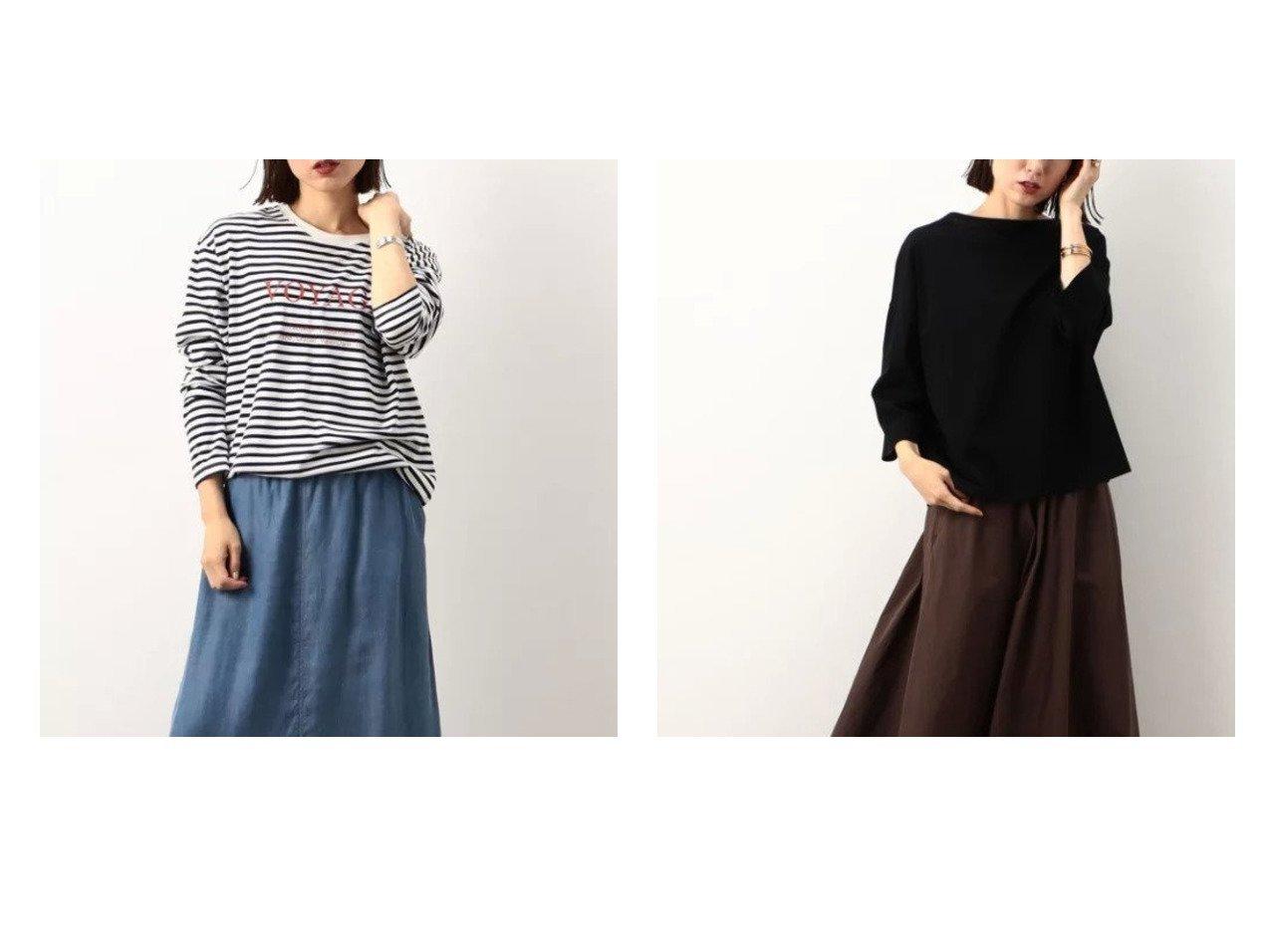 【NOLLEY'S/ノーリーズ】のペルーコットンロゴロンT&MY STANDARD ロンT 【トップス・カットソー】おすすめ!人気、トレンド・レディースファッションの通販 おすすめで人気の流行・トレンド、ファッションの通販商品 インテリア・家具・メンズファッション・キッズファッション・レディースファッション・服の通販 founy(ファニー) https://founy.com/ ファッション Fashion レディースファッション WOMEN トップス・カットソー Tops/Tshirt シャツ/ブラウス Shirts/Blouses ロング / Tシャツ T-Shirts カットソー Cut and Sewn インナー カットソー 長袖 ベーシック ロング おすすめ Recommend |ID:crp329100000055600