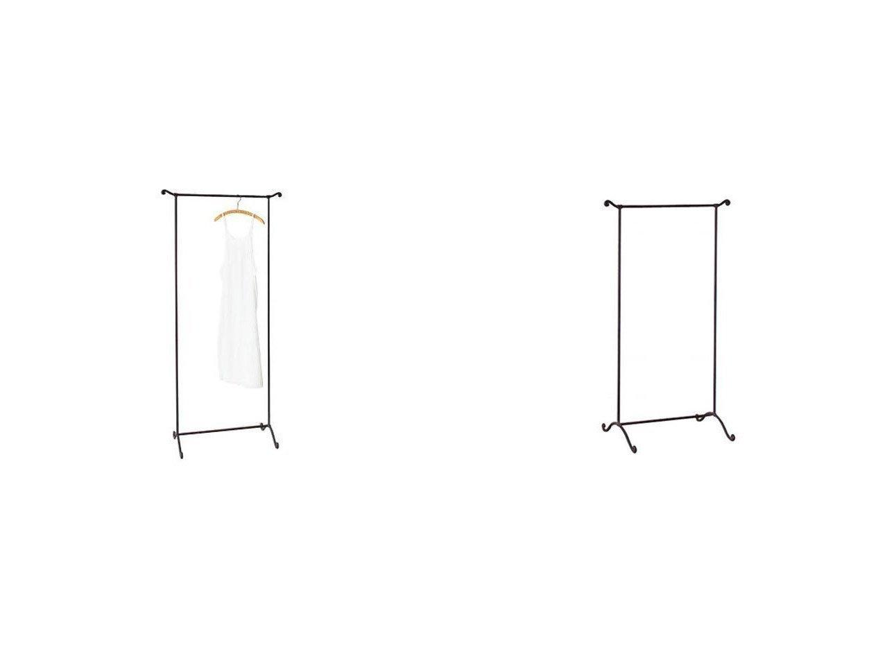 【FLYMEe Blanc/フライミー ブラン】のハンガーラック Lサイズ m6833&ハンガーラック Sサイズ m6832 【FURNITURE】おすすめ!人気、インテリア雑貨・家具の通販 おすすめで人気の流行・トレンド、ファッションの通販商品 インテリア・家具・メンズファッション・キッズファッション・レディースファッション・服の通販 founy(ファニー) https://founy.com/ 送料無料 Free Shipping ストール 帽子 |ID:crp329100000055647