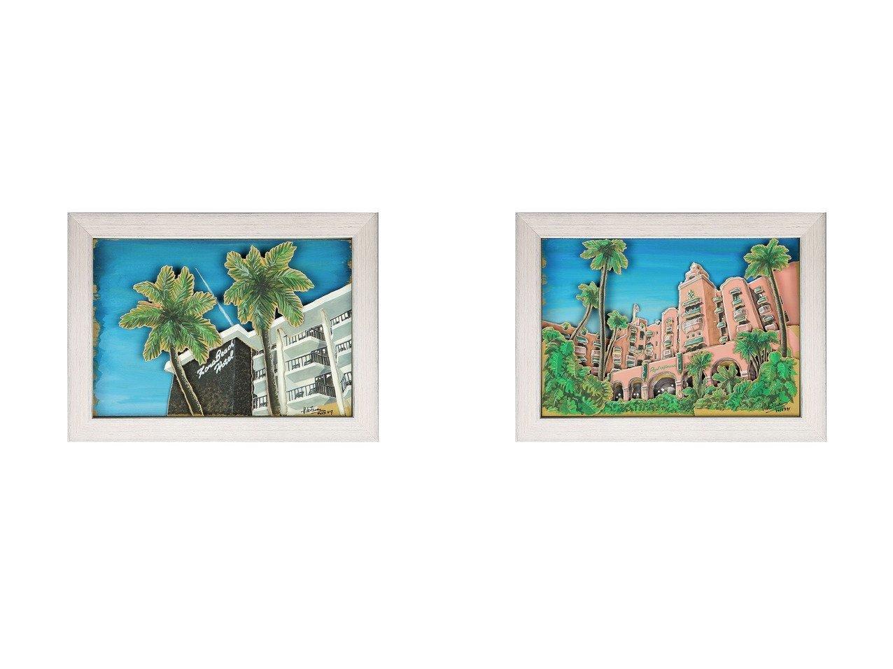 【Nostalgic Hawaii/ノスタルジック ハワイ】のロイヤルハワイアンホテル&コナビーチホテル 【FURNITURE】おすすめ!人気、インテリア雑貨・家具の通販 おすすめで人気の流行・トレンド、ファッションの通販商品 インテリア・家具・メンズファッション・キッズファッション・レディースファッション・服の通販 founy(ファニー) https://founy.com/ シャドー プリント 送料無料 Free Shipping |ID:crp329100000055681