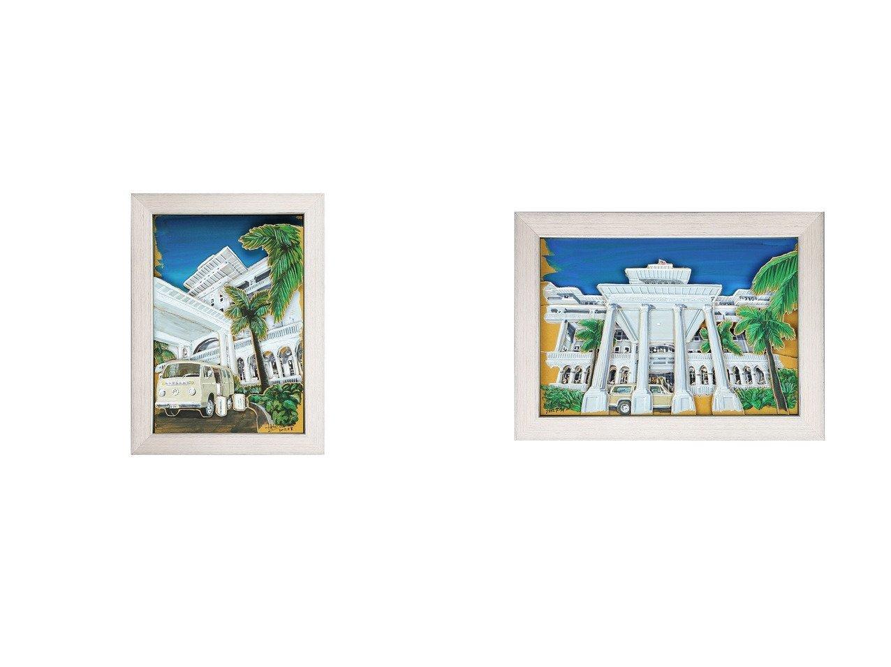 【Nostalgic Hawaii/ノスタルジック ハワイ】のモアナホテル&モアナホテル・フロント 【FURNITURE】おすすめ!人気、インテリア雑貨・家具の通販 おすすめで人気の流行・トレンド、ファッションの通販商品 インテリア・家具・メンズファッション・キッズファッション・レディースファッション・服の通販 founy(ファニー) https://founy.com/ シャドー プリント 送料無料 Free Shipping |ID:crp329100000055682