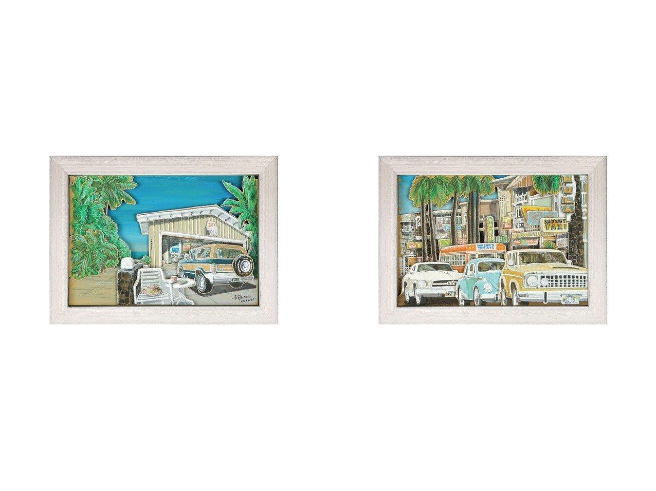 【Nostalgic Hawaii/ノスタルジック ハワイ】のワイメア・ガレージ&クヒオアベニュー 【FURNITURE】おすすめ!人気、インテリア雑貨・家具の通販 おすすめで人気の流行・トレンド、ファッションの通販商品 インテリア・家具・メンズファッション・キッズファッション・レディースファッション・服の通販 founy(ファニー) https://founy.com/ シャドー プリント 送料無料 Free Shipping |ID:crp329100000055683