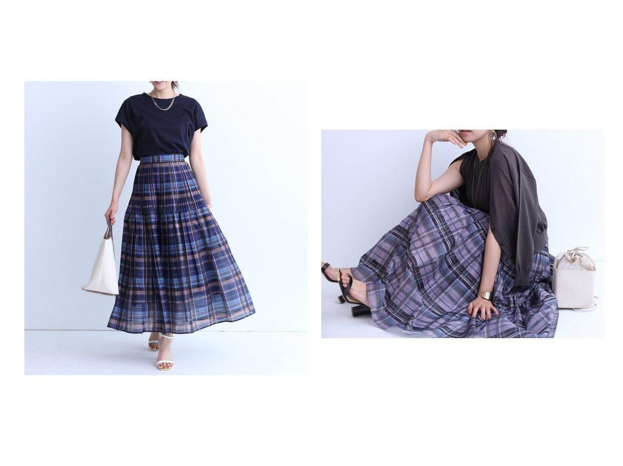 【JUSGLITTY/ジャスグリッティー】のNEWシアーチェックプリーツスカート 【スカート】おすすめ!人気、トレンド・レディースファッションの通販 おすすめで人気の流行・トレンド、ファッションの通販商品 インテリア・家具・メンズファッション・キッズファッション・レディースファッション・服の通販 founy(ファニー) https://founy.com/ ファッション Fashion レディースファッション WOMEN スカート Skirt プリーツスカート Pleated Skirts NEW・新作・新着・新入荷 New Arrivals エレガント フレア プリーツ |ID:crp329100000055811