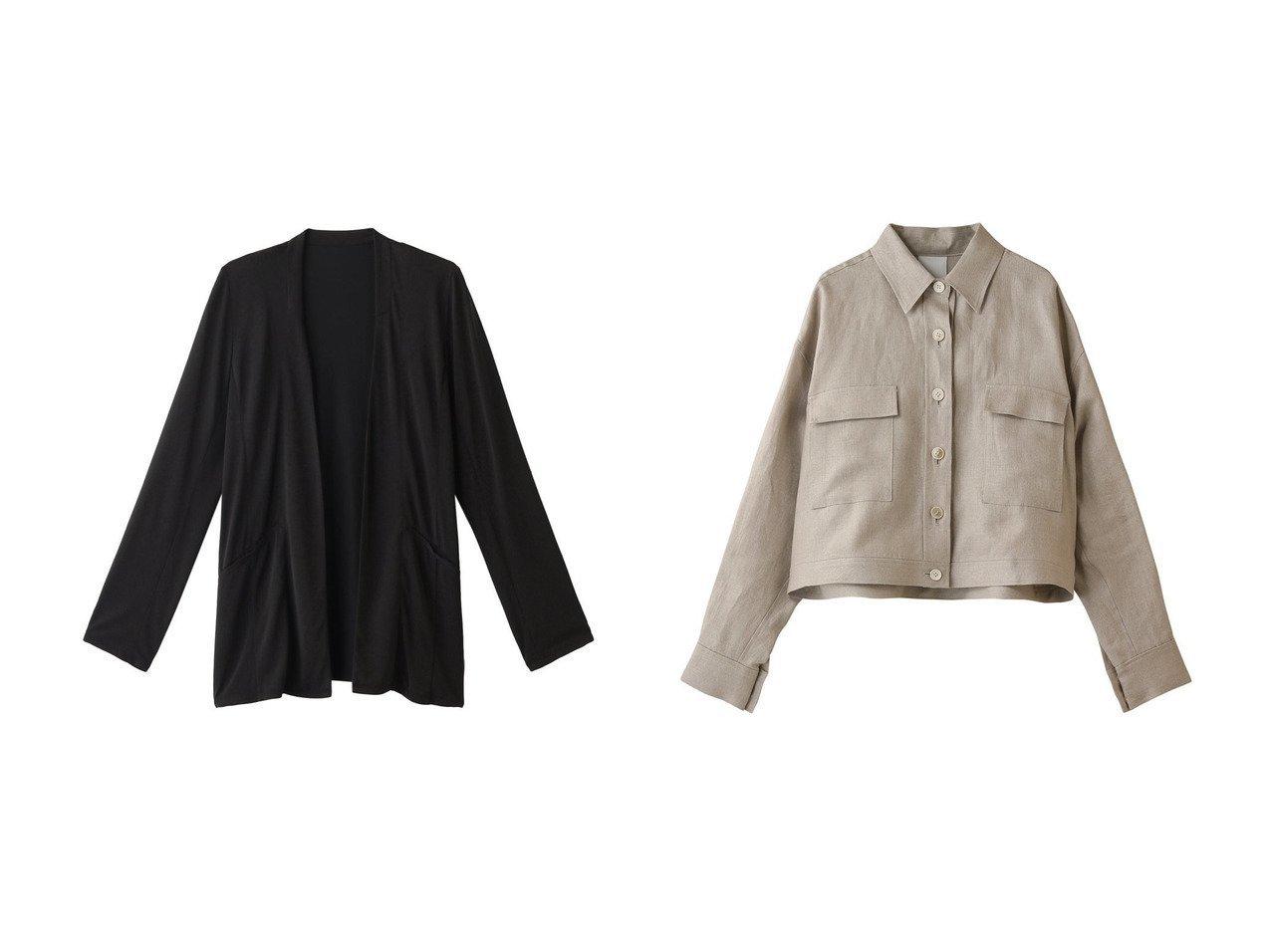 【Whim Gazette/ウィムガゼット】のリネンシャツブルゾン&【three dots/スリー ドッツ】のジャケット 【アウター】おすすめ!人気、トレンド・レディースファッションの通販 おすすめで人気の流行・トレンド、ファッションの通販商品 インテリア・家具・メンズファッション・キッズファッション・レディースファッション・服の通販 founy(ファニー) https://founy.com/ ファッション Fashion レディースファッション WOMEN アウター Coat Outerwear ジャケット Jackets ブルゾン Blouson/Jackets トップス・カットソー Tops/Tshirt シャツ/ブラウス Shirts/Blouses なめらか カーディガン ジャケット リラックス おすすめ Recommend セットアップ ブルゾン リネン 春 Spring  ID:crp329100000055916
