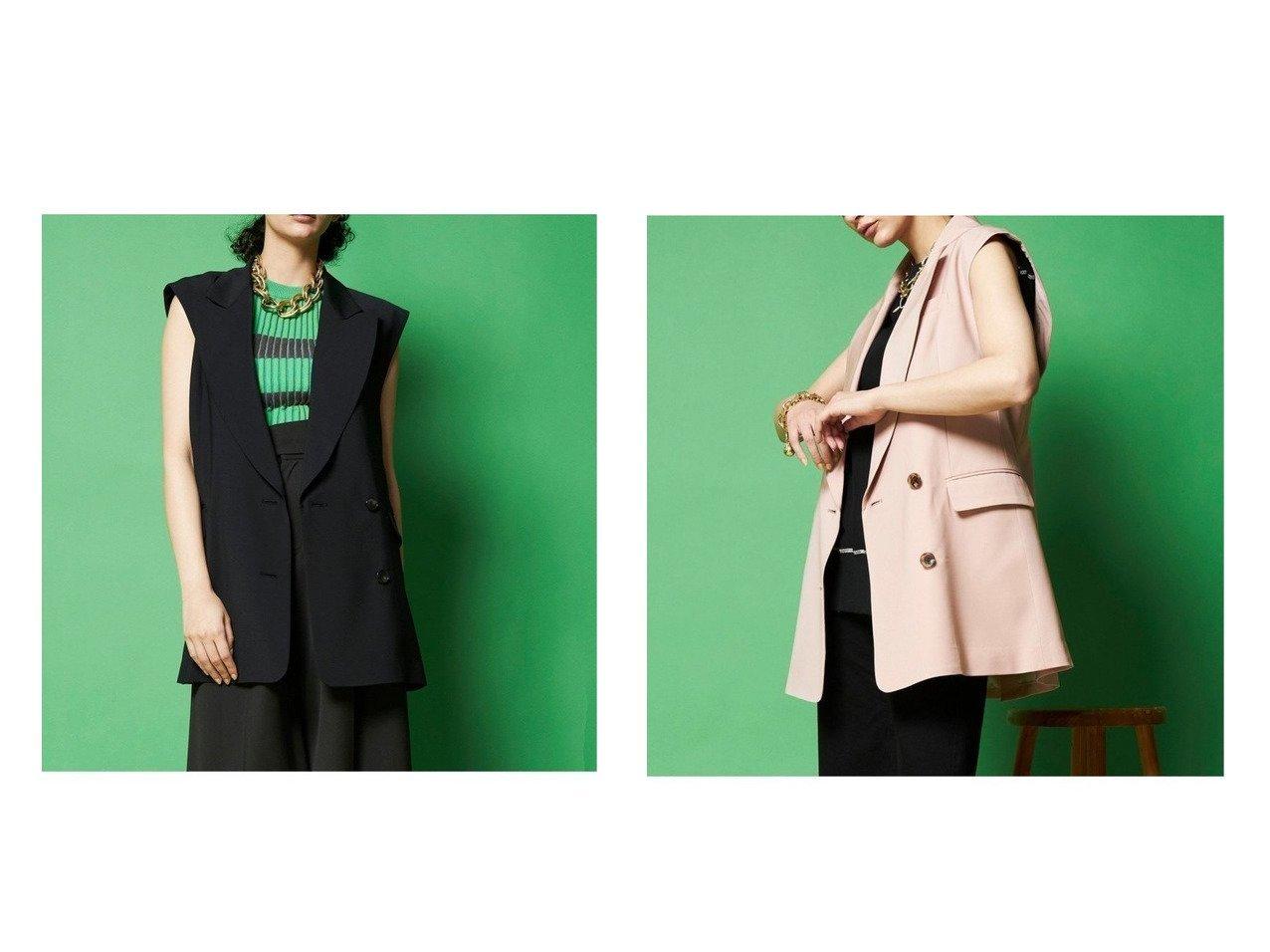 【MAISON SPECIAL/メゾンスペシャル】のバックオープンジレ【メゾンスペシャル】 【アウター】おすすめ!人気、トレンド・レディースファッションの通販 おすすめで人気の流行・トレンド、ファッションの通販商品 インテリア・家具・メンズファッション・キッズファッション・レディースファッション・服の通販 founy(ファニー) https://founy.com/ ファッション Fashion レディースファッション WOMEN アウター Coat Outerwear コート Coats ジャケット Jackets キュプラ クラシカル ジャケット ダブル ベスト マニッシュ |ID:crp329100000055917