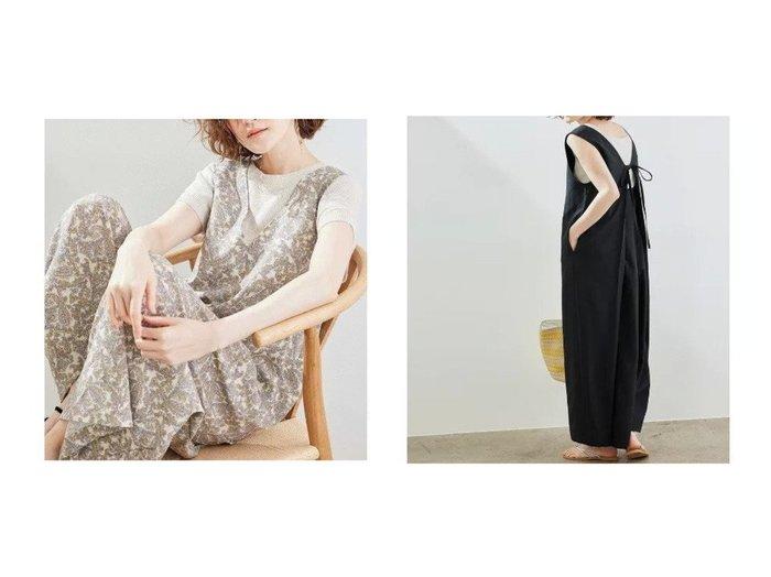 【ROPE' PICNIC/ロペピクニック】の柄アソートバックタックオールインワン 【ワンピース・ドレス】おすすめ!人気、トレンド・レディースファッションの通販 おすすめ人気トレンドファッション通販アイテム 人気、トレンドファッション・服の通販 founy(ファニー) ファッション Fashion レディースファッション WOMEN ワンピース Dress オールインワン ワンピース All In One Dress サロペット Salopette バッグ Bag インナー キャミソール タンク ペイズリー ポケット リボン 半袖 夏 Summer 無地 |ID:crp329100000055941