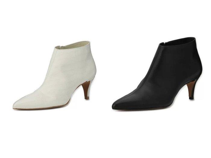 【HEWN/ヒューン】のPointed ankle boots 55 【シューズ・靴】おすすめ!人気、トレンド・レディースファッションの通販 おすすめ人気トレンドファッション通販アイテム インテリア・キッズ・メンズ・レディースファッション・服の通販 founy(ファニー) https://founy.com/ ファッション Fashion レディースファッション WOMEN クロコ シューズ ショート シンプル スリム バランス ポインテッド |ID:crp329100000056152