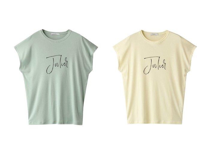 【Julier/ジュリエ】のJulierプリントタンクトップ 【トップス・カットソー】おすすめ!人気、トレンド・レディースファッションの通販 おすすめ人気トレンドファッション通販アイテム インテリア・キッズ・メンズ・レディースファッション・服の通販 founy(ファニー) https://founy.com/ ファッション Fashion レディースファッション WOMEN トップス・カットソー Tops/Tshirt スポーツウェア Sportswear スポーツ トップス Tops 2020年 2020 2020-2021秋冬・A/W AW・Autumn/Winter・FW・Fall-Winter/2020-2021 2021年 2021 2021-2022秋冬・A/W AW・Autumn/Winter・FW・Fall-Winter・2021-2022 A/W・秋冬 AW・Autumn/Winter・FW・Fall-Winter スポーツ 定番 Standard |ID:crp329100000056215