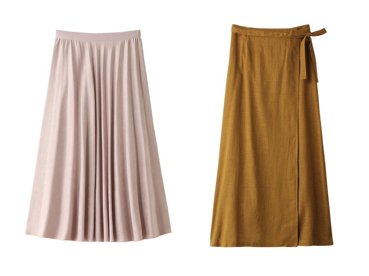 【ANAYI/アナイ】のスエードチョウフレアプリーツスカート&【ROSE BUD/ローズバッド】のリネン巻きスカート 【スカート】おすすめ!人気、トレンド・レディースファッションの通販 おすすめで人気の流行・トレンド、ファッションの通販商品 インテリア・家具・メンズファッション・キッズファッション・レディースファッション・服の通販 founy(ファニー) https://founy.com/ ファッション Fashion レディースファッション WOMEN スカート Skirt ロングスカート Long Skirt プリーツスカート Pleated Skirts トレンド フレア マキシ リネン ロング 再入荷 Restock/Back in Stock/Re Arrival 夏 Summer A/W・秋冬 AW・Autumn/Winter・FW・Fall-Winter スエード プリーツ |ID:crp329100000056320