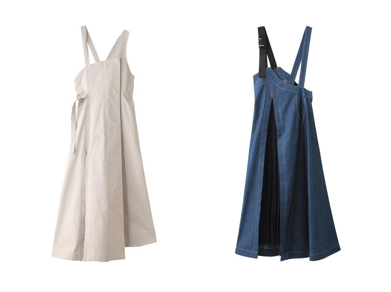 【AULA/アウラ】の【AULA AILA】アシンメトリーボリュームジャンパースカート&【AULA AILA】ウエストマークジャンパースカート 【スカート】おすすめ!人気、トレンド・レディースファッションの通販 おすすめで人気の流行・トレンド、ファッションの通販商品 インテリア・家具・メンズファッション・キッズファッション・レディースファッション・服の通販 founy(ファニー) https://founy.com/ ファッション Fashion レディースファッション WOMEN スカート Skirt アシンメトリー インナー ショルダー フィット シェイプ チュニック ヘムライン ラップ ロング |ID:crp329100000056322