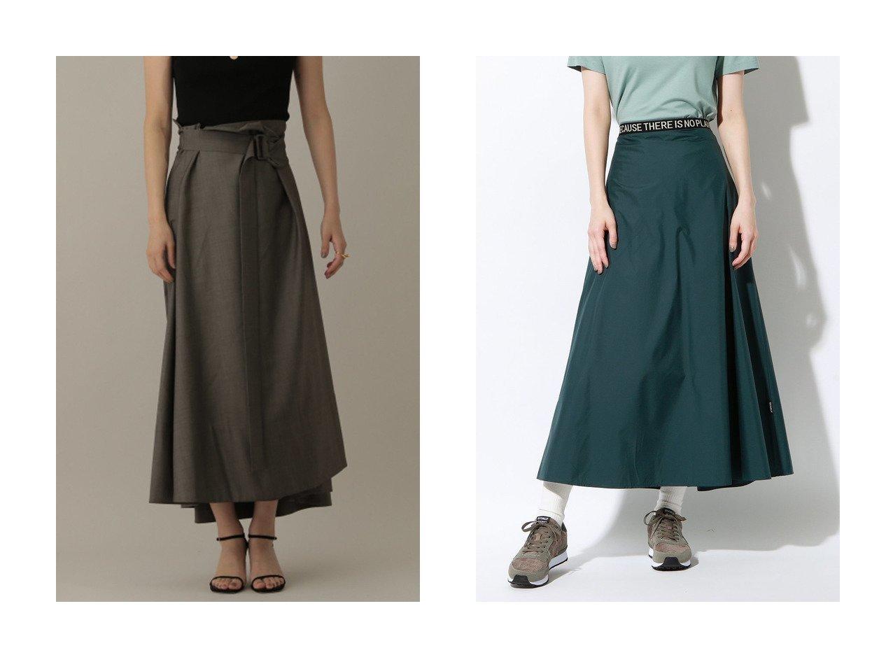 【ECOALF/エコアルフ】のWALLTER ロング スカート WALLTER LONG SKIRT WOMAN&【Chaos/カオス】のSUPERロッタラップスカート 【スカート】おすすめ!人気、トレンド・レディースファッションの通販 おすすめで人気の流行・トレンド、ファッションの通販商品 インテリア・家具・メンズファッション・キッズファッション・レディースファッション・服の通販 founy(ファニー) https://founy.com/ ファッション Fashion レディースファッション WOMEN スカート Skirt ロングスカート Long Skirt スニーカー ロング |ID:crp329100000056324