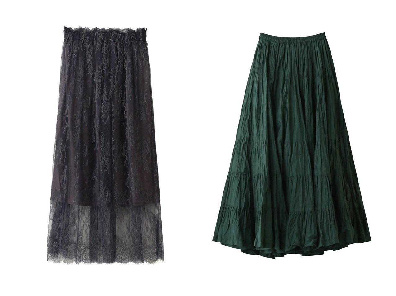 【THIRD MAGAZINE/サードマガジン】のインポートレースギャザースカート&【MARIHA/マリハ】の草原の虹のスカート 【スカート】おすすめ!人気、トレンド・レディースファッションの通販 おすすめで人気の流行・トレンド、ファッションの通販商品 インテリア・家具・メンズファッション・キッズファッション・レディースファッション・服の通販 founy(ファニー) https://founy.com/ ファッション Fashion レディースファッション WOMEN スカート Skirt ロングスカート Long Skirt アクセサリー ギャザー ペチコート レース ロング |ID:crp329100000056325