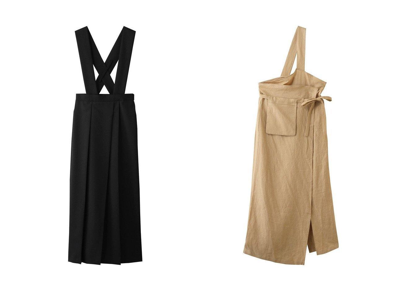 【ENFOLD/エンフォルド】のハードウール タックプリーツスカート&Light Linen エプロンスカート 【スカート】おすすめ!人気、トレンド・レディースファッションの通販 おすすめで人気の流行・トレンド、ファッションの通販商品 インテリア・家具・メンズファッション・キッズファッション・レディースファッション・服の通販 founy(ファニー) https://founy.com/ ファッション Fashion レディースファッション WOMEN スカート Skirt ロングスカート Long Skirt プリーツスカート Pleated Skirts ポケット リネン リボン ロング |ID:crp329100000056328