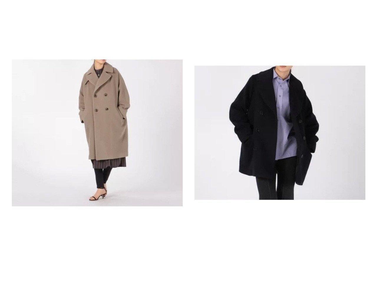 【TICCA/ティッカ】のテントコート&ピーコート 【アウター】おすすめ!人気、トレンド・レディースファッションの通販 おすすめで人気の流行・トレンド、ファッションの通販商品 インテリア・家具・メンズファッション・キッズファッション・レディースファッション・服の通販 founy(ファニー) https://founy.com/ ファッション Fashion レディースファッション WOMEN アウター Coat Outerwear コート Coats チェスターコート Top Coat Pコート Pea Coats A/W・秋冬 AW・Autumn/Winter・FW・Fall-Winter チェスターコート 人気 今季 定番 Standard おすすめ Recommend スタンダード  ID:crp329100000056366
