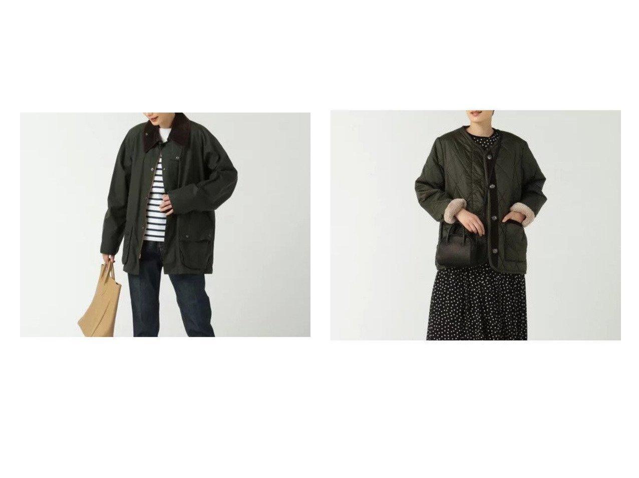 【BARBOUR/バブアー】のROSLIN QUILT&BEDALE 【アウター】おすすめ!人気、トレンド・レディースファッションの通販 おすすめで人気の流行・トレンド、ファッションの通販商品 インテリア・家具・メンズファッション・キッズファッション・レディースファッション・服の通販 founy(ファニー) https://founy.com/ ファッション Fashion レディースファッション WOMEN アウター Coat Outerwear ジャケット Jackets ブルゾン Blouson/Jackets 2021年 2021 2021-2022秋冬・A/W AW・Autumn/Winter・FW・Fall-Winter・2021-2022 A/W・秋冬 AW・Autumn/Winter・FW・Fall-Winter エレガント キルト コレクション ショート ジャケット スタイリッシュ ダイヤモンド ブルゾン プレミアム マーブル スリーブ デニム フランス ロング  ID:crp329100000056369