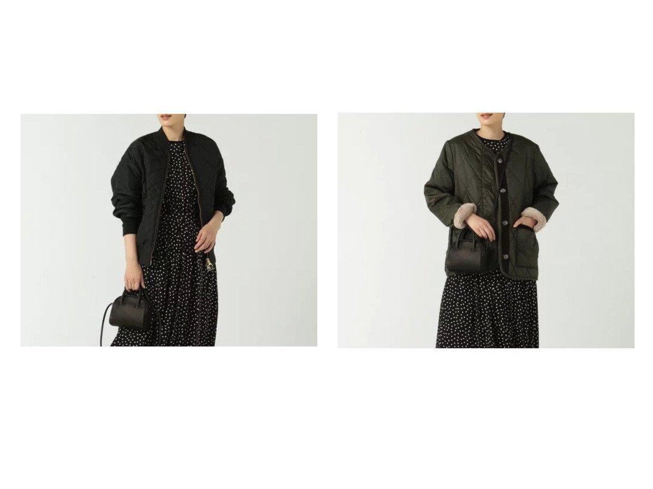 【BARBOUR/バブアー】のROSLIN QUILT&QUILTED BOMBER JACKET OS NYLON 【アウター】おすすめ!人気、トレンド・レディースファッションの通販 おすすめで人気の流行・トレンド、ファッションの通販商品 インテリア・家具・メンズファッション・キッズファッション・レディースファッション・服の通販 founy(ファニー) https://founy.com/ ファッション Fashion レディースファッション WOMEN アウター Coat Outerwear ジャケット Jackets ブルゾン Blouson/Jackets A/W・秋冬 AW・Autumn/Winter・FW・Fall-Winter ジャケット デニム バランス フロント 人気 2021年 2021 2021-2022秋冬・A/W AW・Autumn/Winter・FW・Fall-Winter・2021-2022 エレガント キルト コレクション ショート スタイリッシュ ダイヤモンド ブルゾン プレミアム マーブル  ID:crp329100000056370