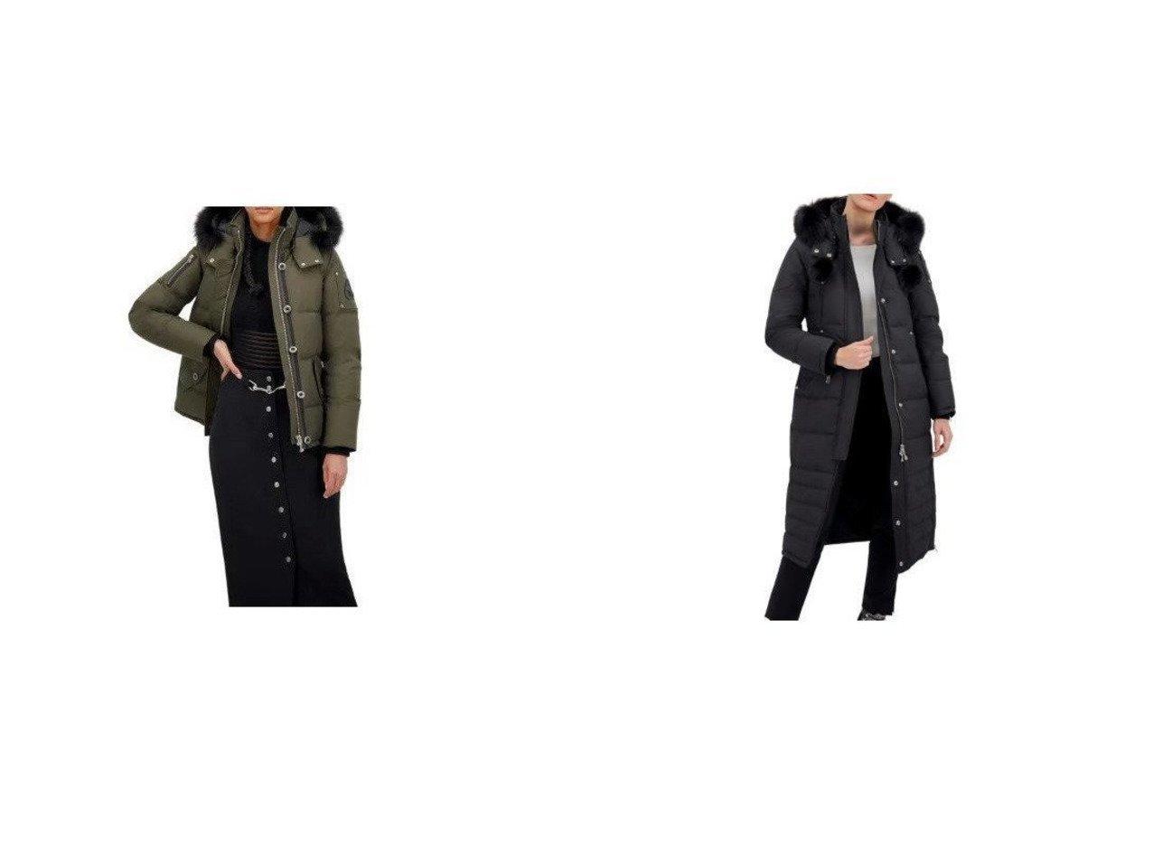 【MOOSE KNUCKLES/ムースナックル】のSASKATCHEWAN PARKA ロングダウンジャケット&3Q JACKET フォックスファーフード取り外し可能ダウンジャケット 【アウター】おすすめ!人気、トレンド・レディースファッションの通販 おすすめで人気の流行・トレンド、ファッションの通販商品 インテリア・家具・メンズファッション・キッズファッション・レディースファッション・服の通販 founy(ファニー) https://founy.com/ ファッション Fashion レディースファッション WOMEN アウター Coat Outerwear コート Coats ジャケット Jackets ジャケット ダウン ポケット ロング 防寒 インナー スウェット スリム フィット 軽量 |ID:crp329100000056380