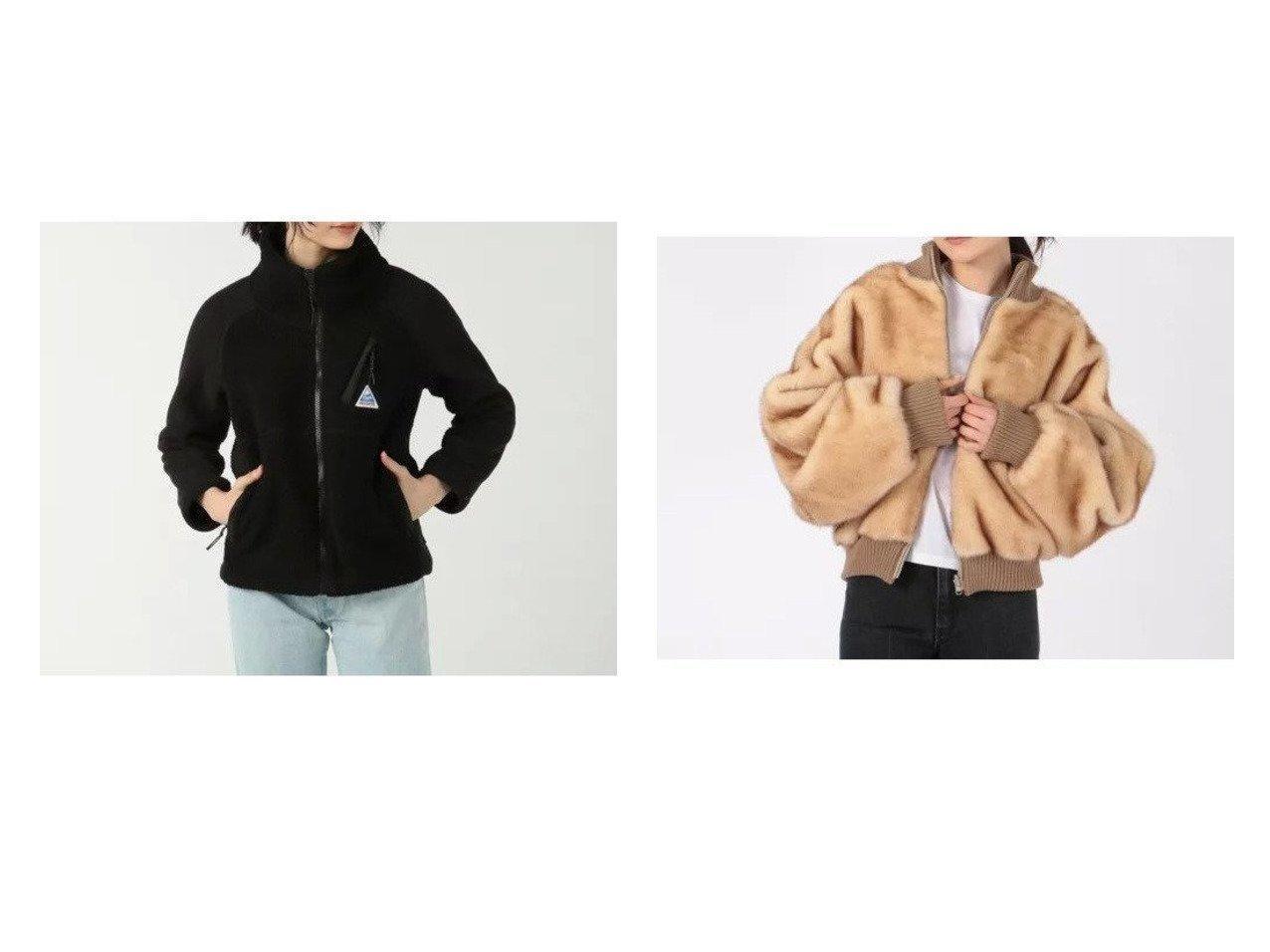 【Cape HEIGHTS/ケープハイツ】のWOMENS BREAKHEART FLEECE Jacket&【SMUK/スモック】のリバーシブルファーブルゾン 【アウター】おすすめ!人気、トレンド・レディースファッションの通販 おすすめで人気の流行・トレンド、ファッションの通販商品 インテリア・家具・メンズファッション・キッズファッション・レディースファッション・服の通販 founy(ファニー) https://founy.com/ ファッション Fashion レディースファッション WOMEN アウター Coat Outerwear ジャケット Jackets ブルゾン Blouson/Jackets アウトドア ジャケット デニム 人気 定番 Standard フェイクファー ブルゾン リアル |ID:crp329100000056387
