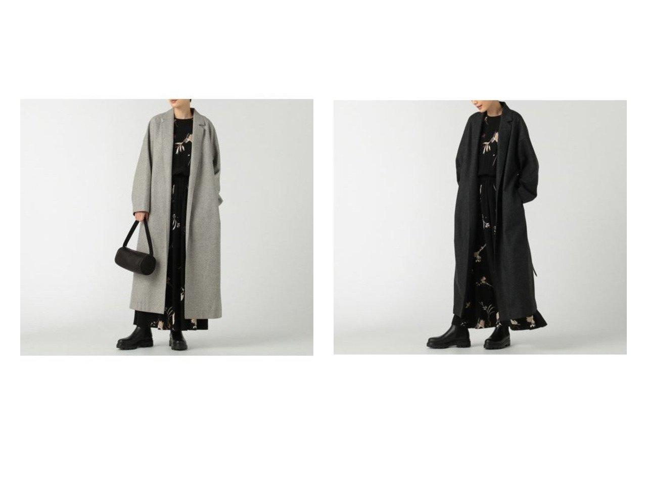 【SACRA/サクラ】のフランネルコート/HIGH COUNT FLANNEL 【アウター】おすすめ!人気、トレンド・レディースファッションの通販 おすすめで人気の流行・トレンド、ファッションの通販商品 インテリア・家具・メンズファッション・キッズファッション・レディースファッション・服の通販 founy(ファニー) https://founy.com/ ファッション Fashion レディースファッション WOMEN アウター Coat Outerwear コート Coats チェスターコート Top Coat ジャケット チェスターコート メランジ |ID:crp329100000056390