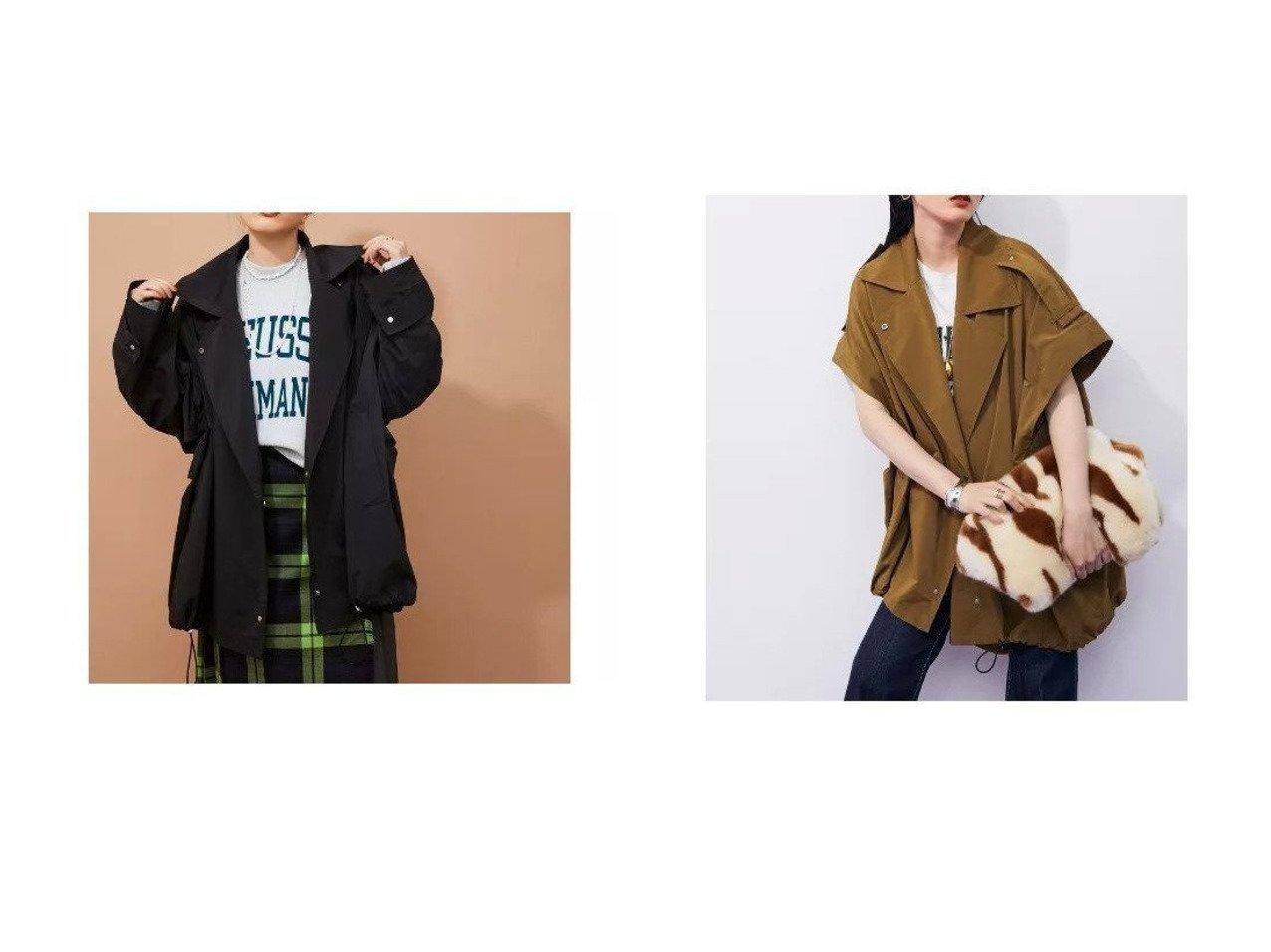 【ADAM ET ROPE'/アダム エ ロペ】の【2WAY】ミリタリーショートトレンチ 【アウター】おすすめ!人気、トレンド・レディースファッションの通販 おすすめで人気の流行・トレンド、ファッションの通販商品 インテリア・家具・メンズファッション・キッズファッション・レディースファッション・服の通販 founy(ファニー) https://founy.com/ ファッション Fashion レディースファッション WOMEN アウター Coat Outerwear コート Coats インナー 秋 Autumn/Fall ショート スポーティ タンク ダウン フォルム ベスト ポケット ミドル A/W・秋冬 AW・Autumn/Winter・FW・Fall-Winter 2021年 2021 2021-2022秋冬・A/W AW・Autumn/Winter・FW・Fall-Winter・2021-2022 おすすめ Recommend |ID:crp329100000056391