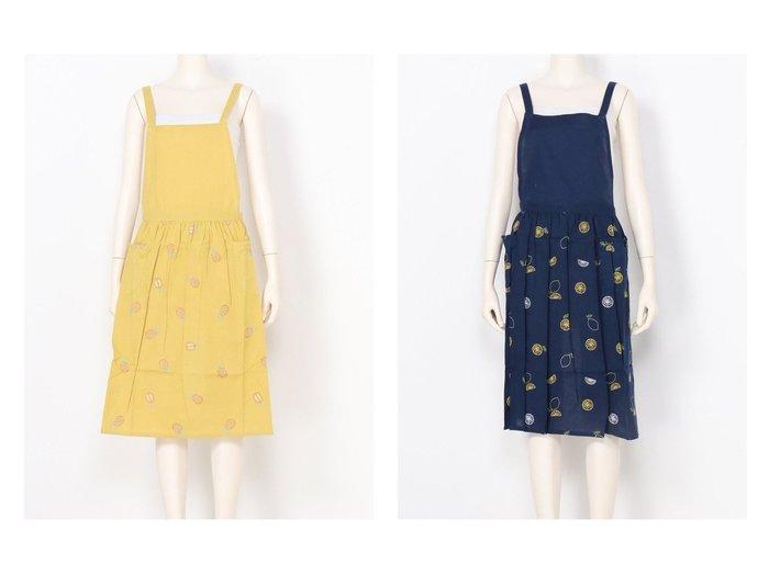 【studio CLIP/スタディオ クリップ】の21SSフルーツEMB AP おすすめ!人気、トレンド・レディースファッションの通販 おすすめ人気トレンドファッション通販アイテム インテリア・キッズ・メンズ・レディースファッション・服の通販 founy(ファニー) https://founy.com/ NEW・新作・新着・新入荷 New Arrivals 2021年 2021 2021春夏・S/S SS/Spring/Summer/2021 S/S・春夏 SS・Spring/Summer イエロー ギャザー モチーフ 夏 Summer ホーム・キャンプ・アウトドア Home,Garden,Outdoor,Camping Gear キッチン・ダイニング Kitchen Dining キッチン収納 Kitchen  ID:crp329100000056632